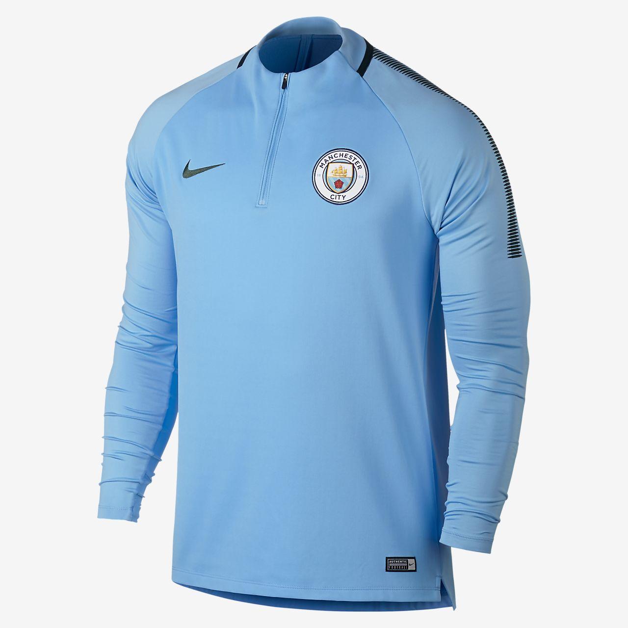 ... Manchester City FC Dri-FIT Squad Drill Men's Football Top