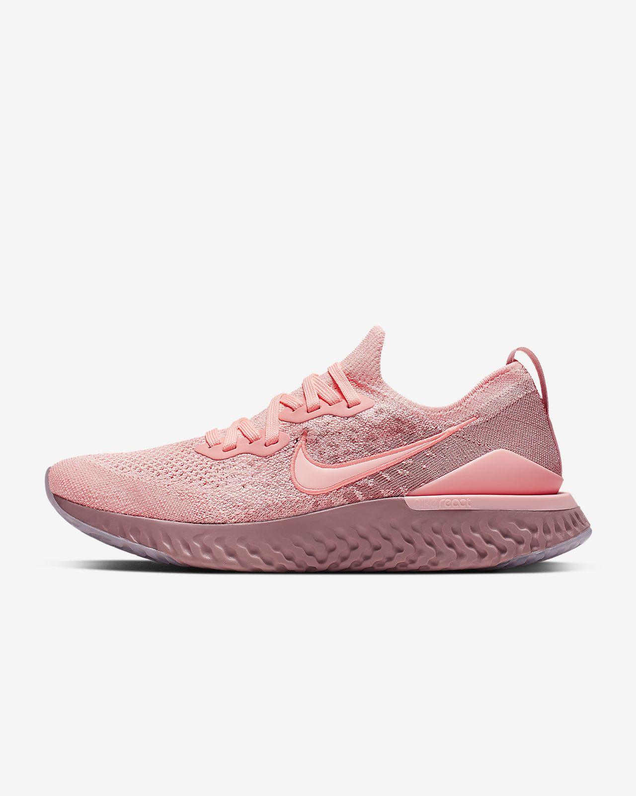 Zapatillas Mujer Nike Epic React Flyknit 2 Rosa