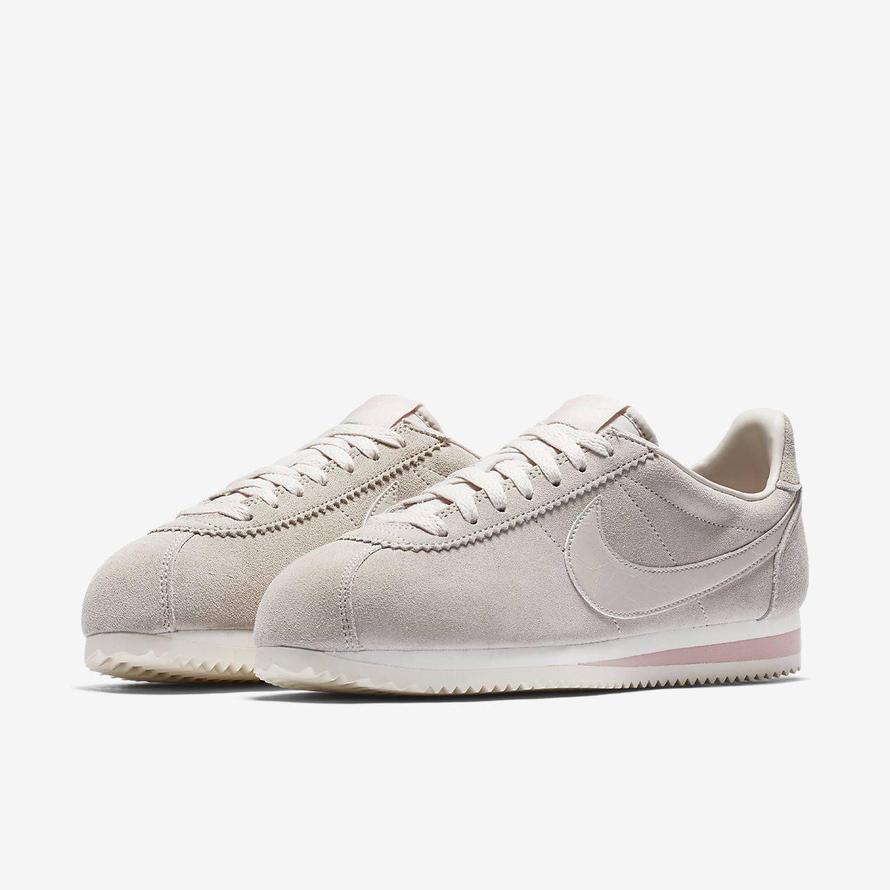 NIKE Womens Classic Cortez Suede AA3839-003 DESERT SAND Size 5.5