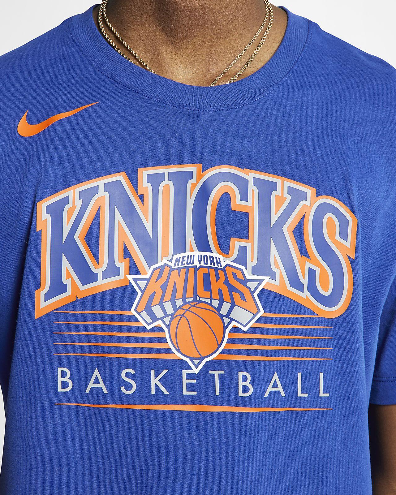 fa0f140a New York Knicks Nike Dri-FIT Men's NBA T-Shirt. Nike.com GB