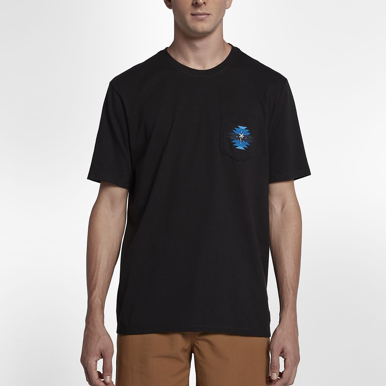... Hurley Pendleton Chief Pocket Men's T-Shirt