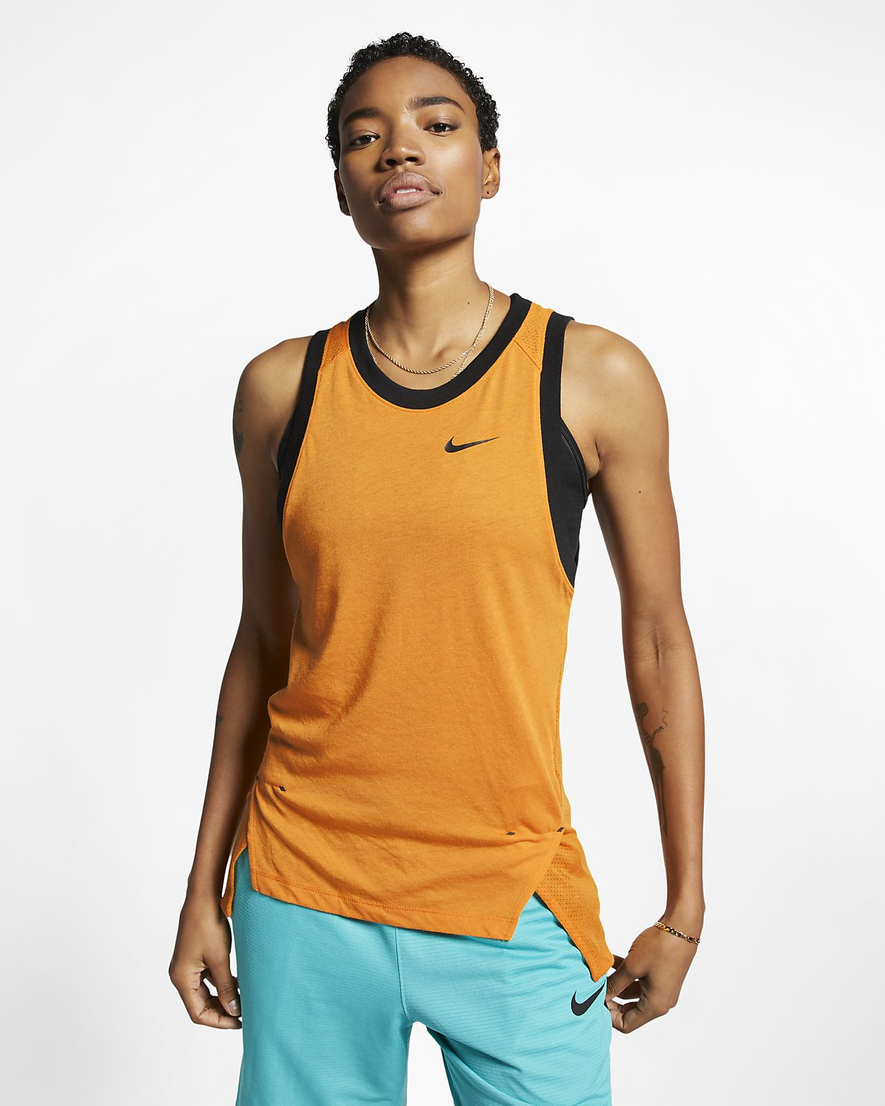 Damska koszulka bez rękawów do koszykówki Nike Dri-FIT Elite