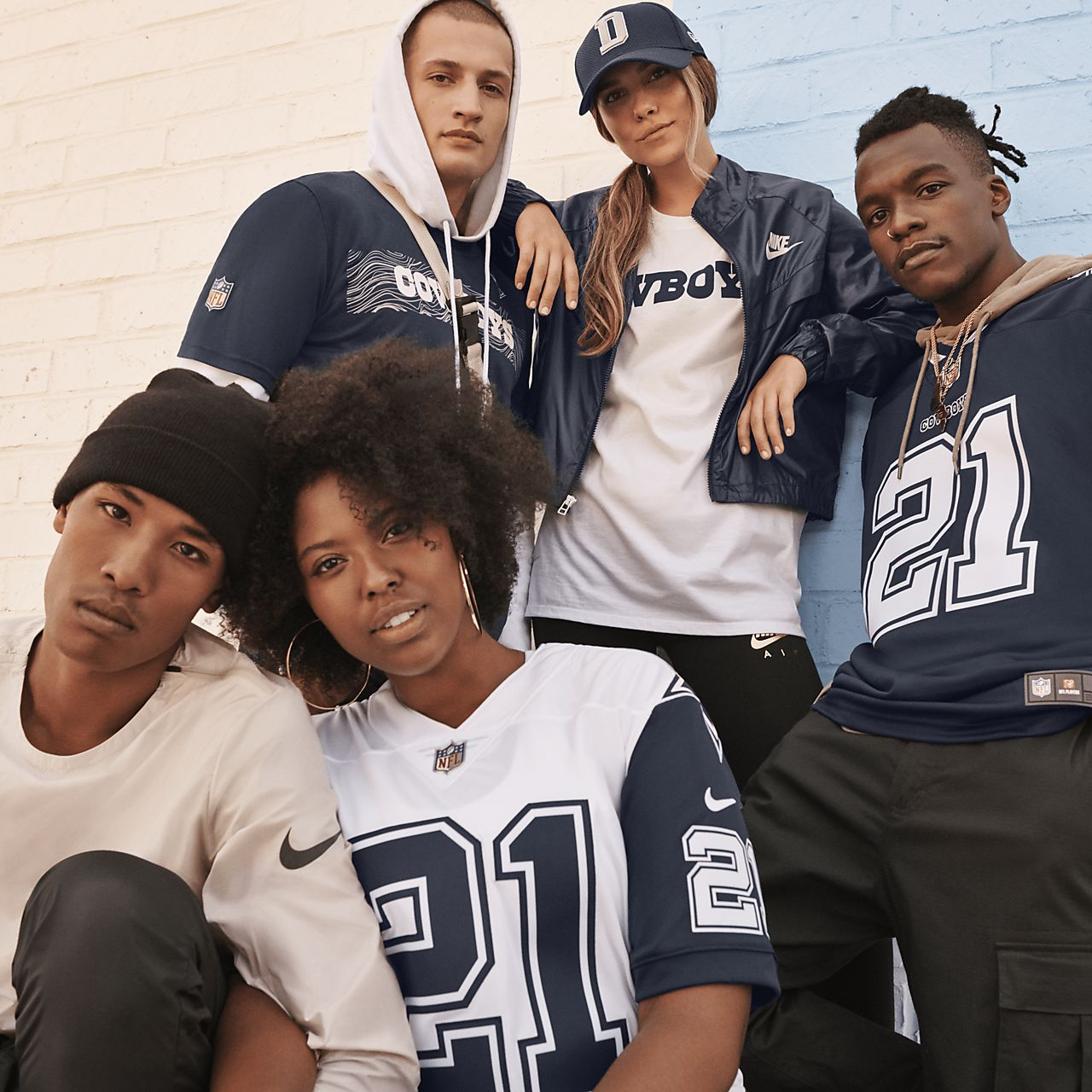 NFL Dallas Cowboys (Ezekiel Elliott) Men's Football Game Jersey