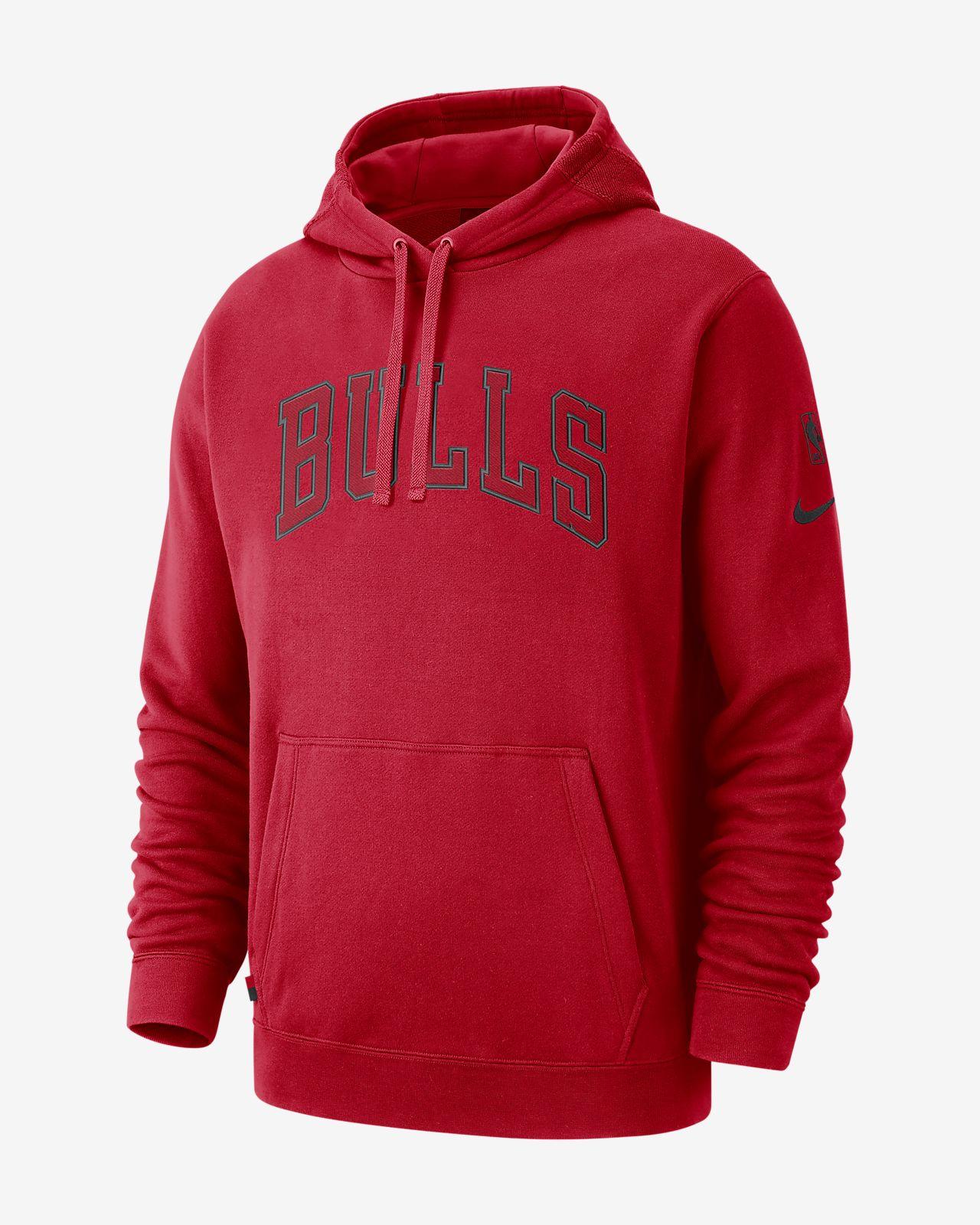Chicago Bulls Nike NBA-hoodie voor heren