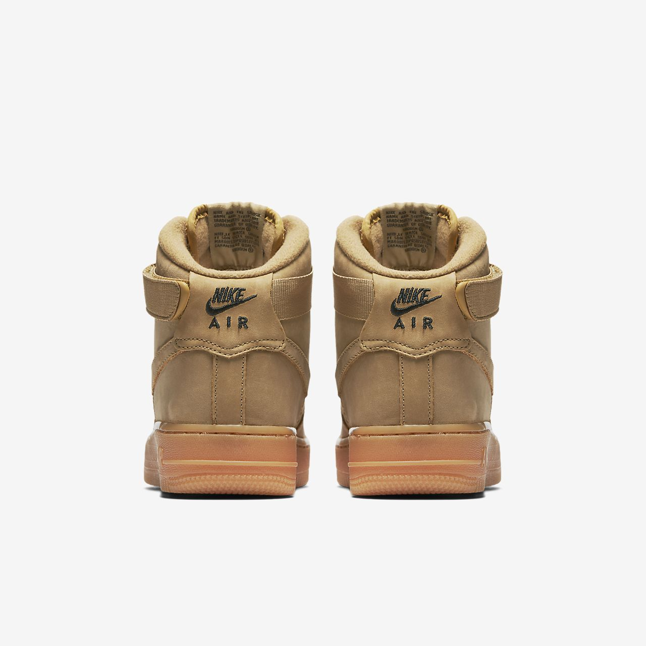 nike junior air force 1 lv8 'flax' trainer nz