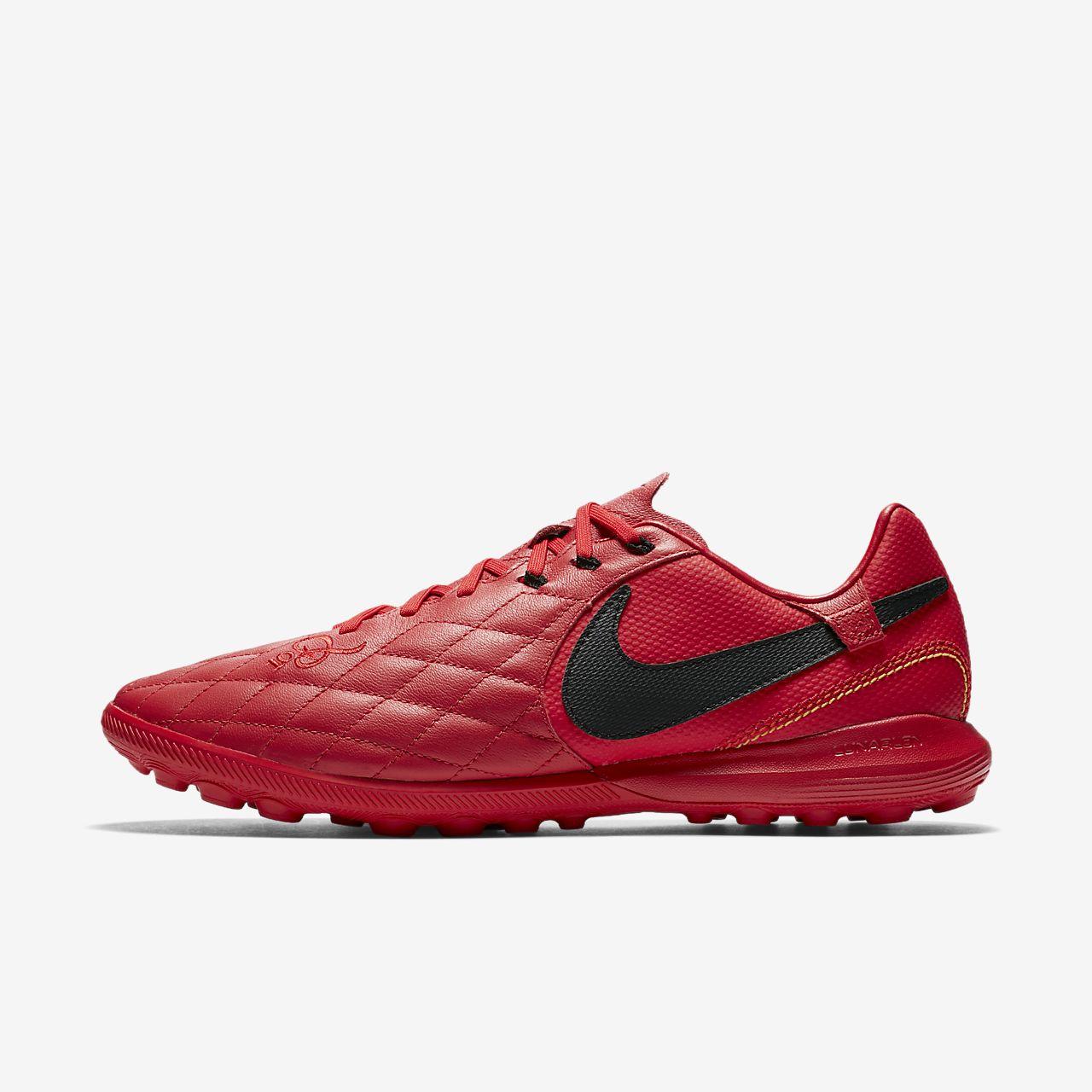 Nike TiempoX Ligera IV Artificial-Turf Men's Football Shoes Red/Black/White qV2273T