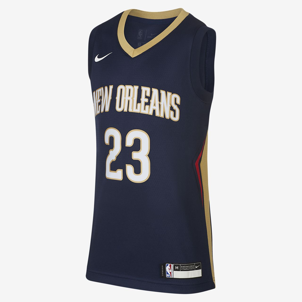 新奥尔良鹈鹕队 Icon Edition Swingman Jersey Nike NBA Jersey大童(男孩)球衣
