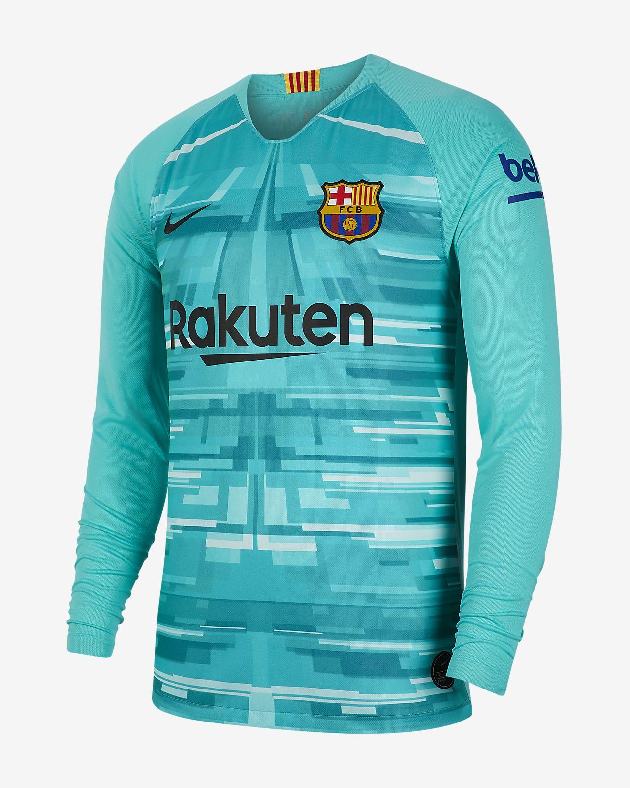 FC Barcelona 2019/20 Stadium Goalkeeper HerrenFußballtrikot