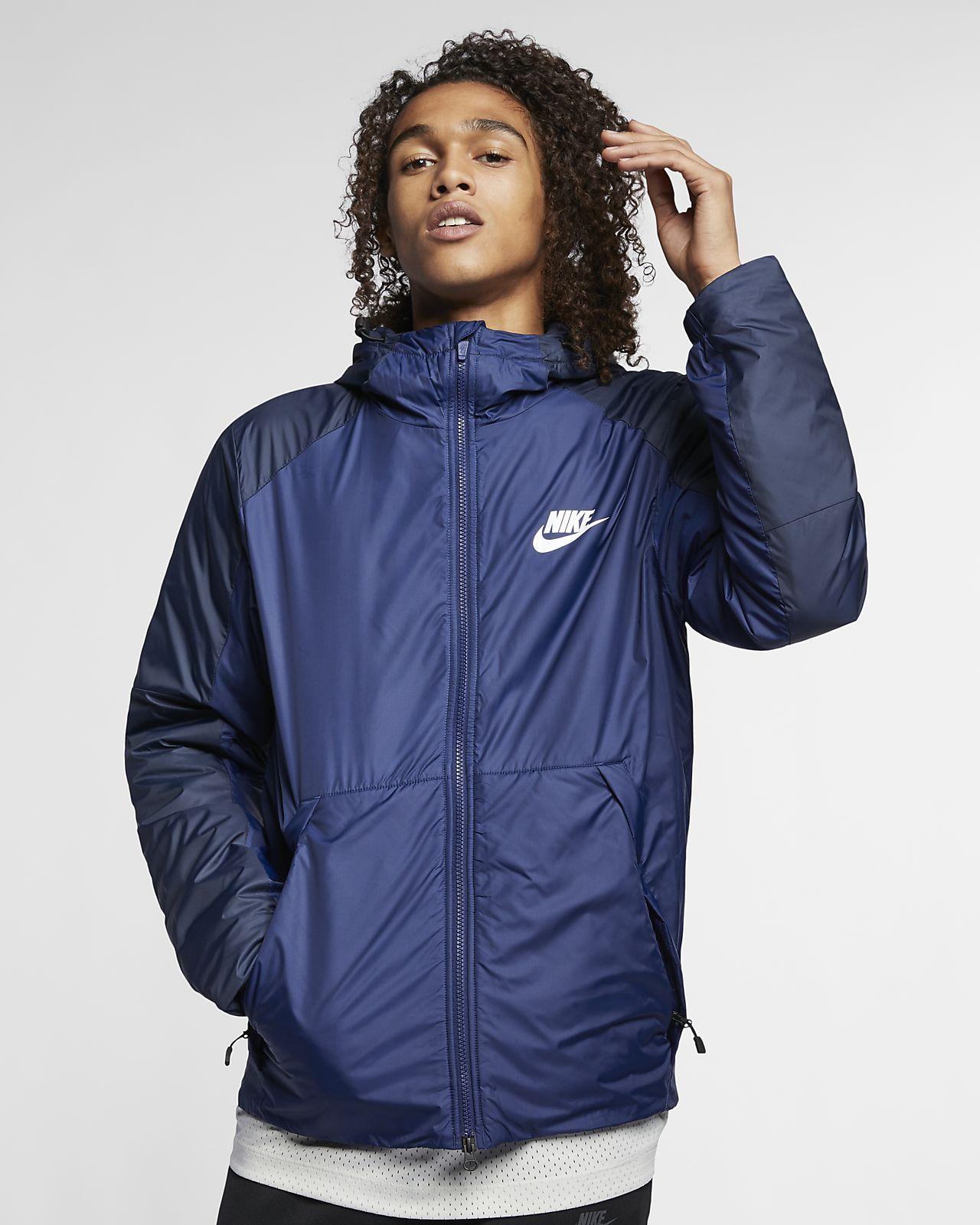 Nike Sportswear Synthetic Fill Fleece-Jacke mit Kapuze für Herren