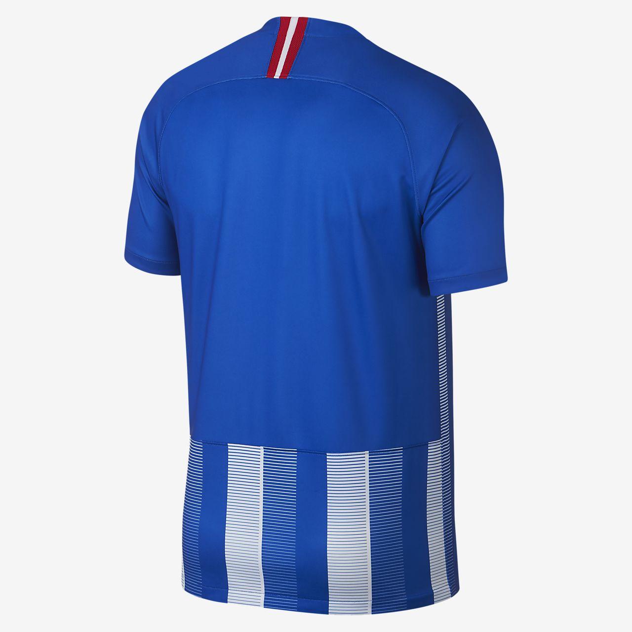 Camiseta de fútbol para hombre 2018 19 Hertha BSC Stadium. Nike.com MX 5b50dfc758c