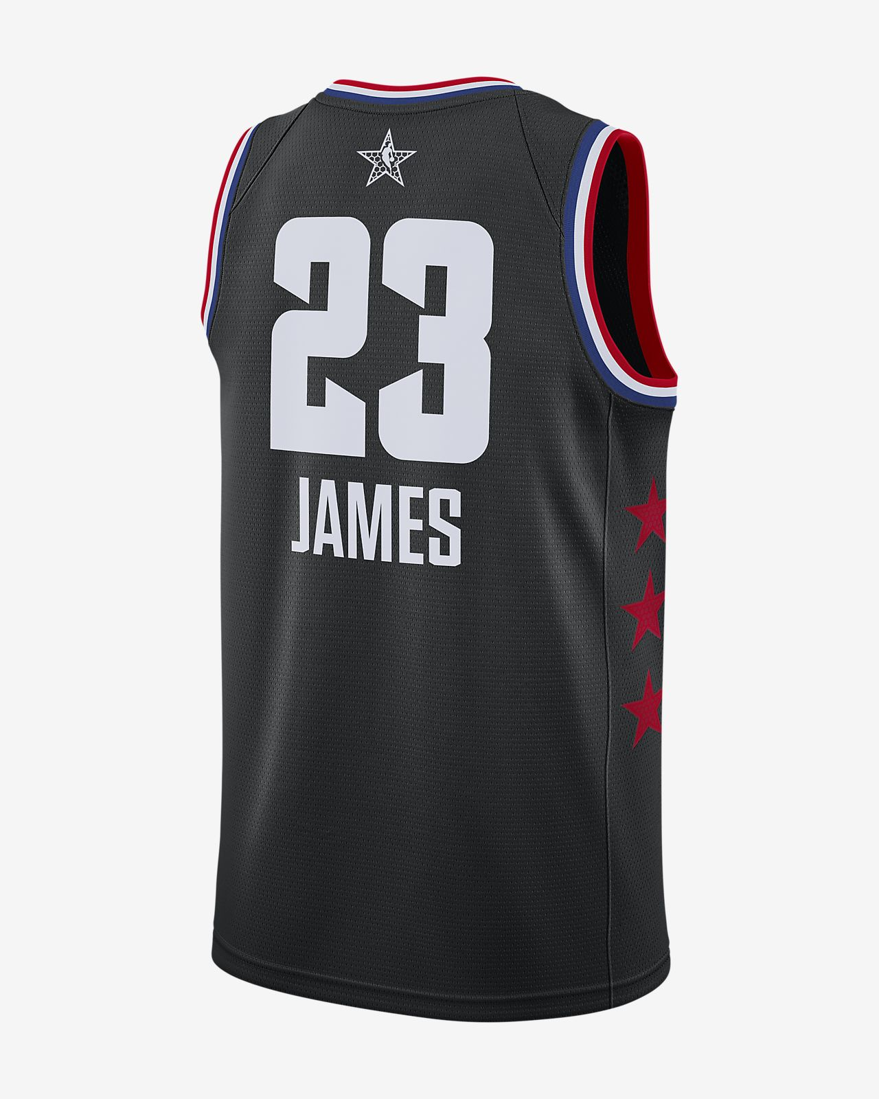 ... LeBron James All-Star Edition Swingman Men s Jordan NBA Connected Jersey 2d5f2a8bf