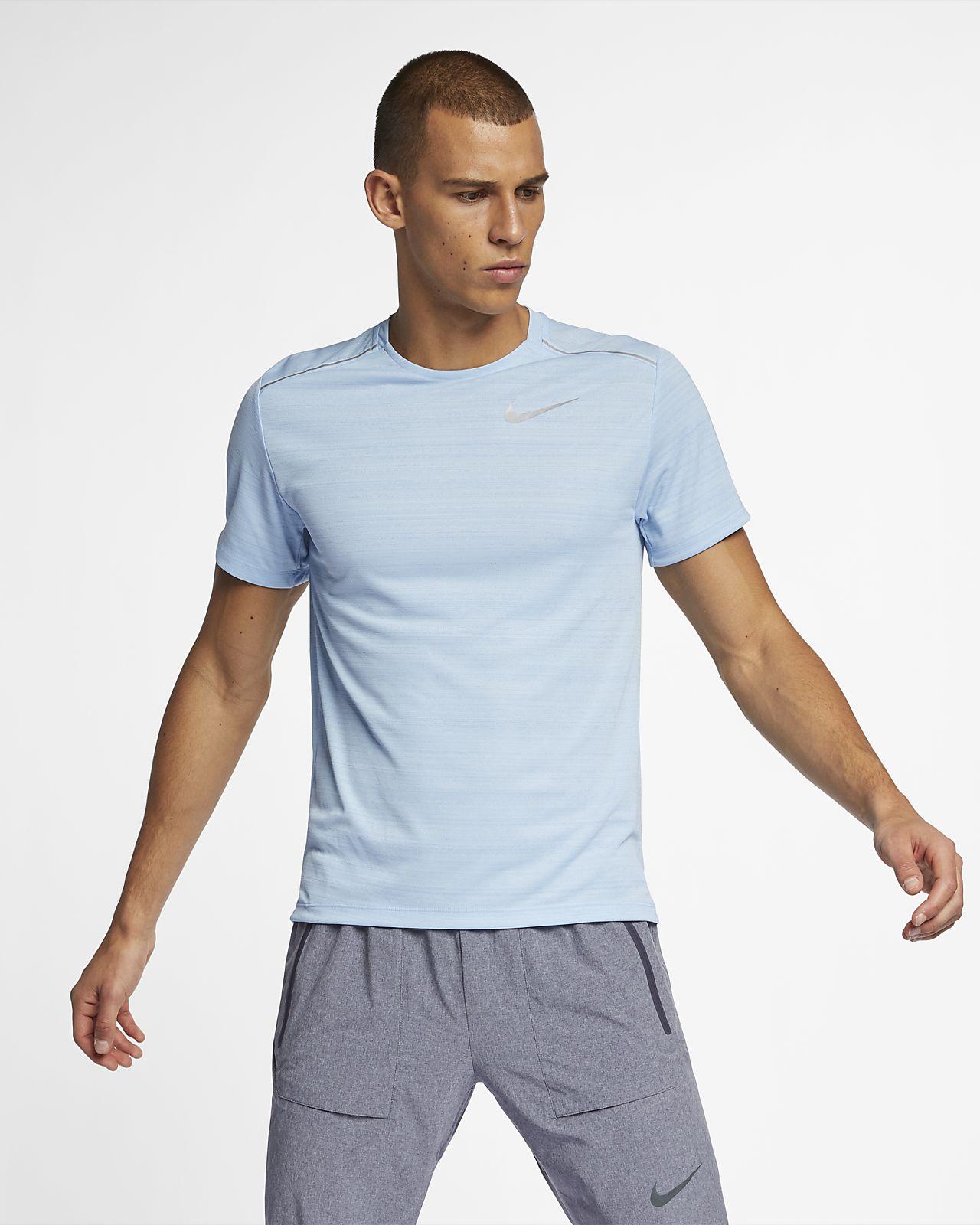 6483e1c8aeff Pánské běžecké tričko Nike Dri-FIT Miler s krátkým rukávem. Nike.com CZ