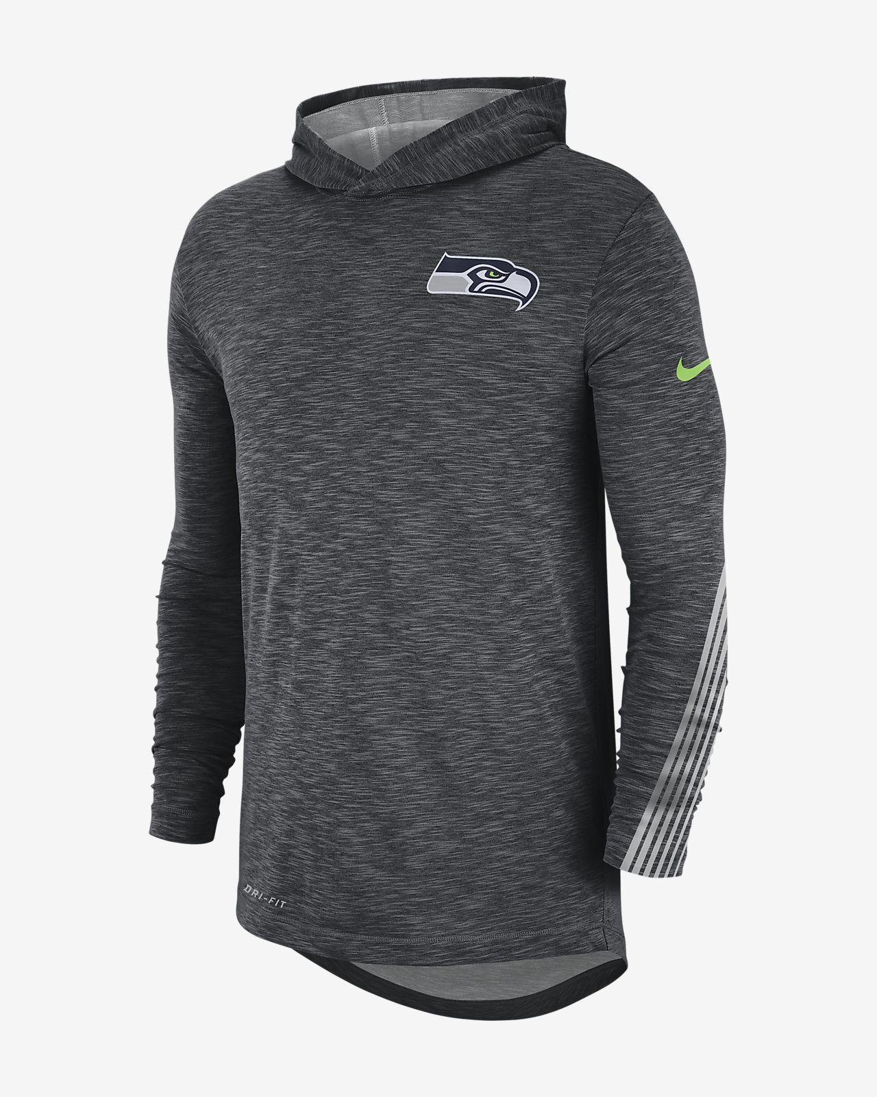 quality design e1af7 52d5f Nike Dri-FIT (NFL Seahawks) Men's Hoodie