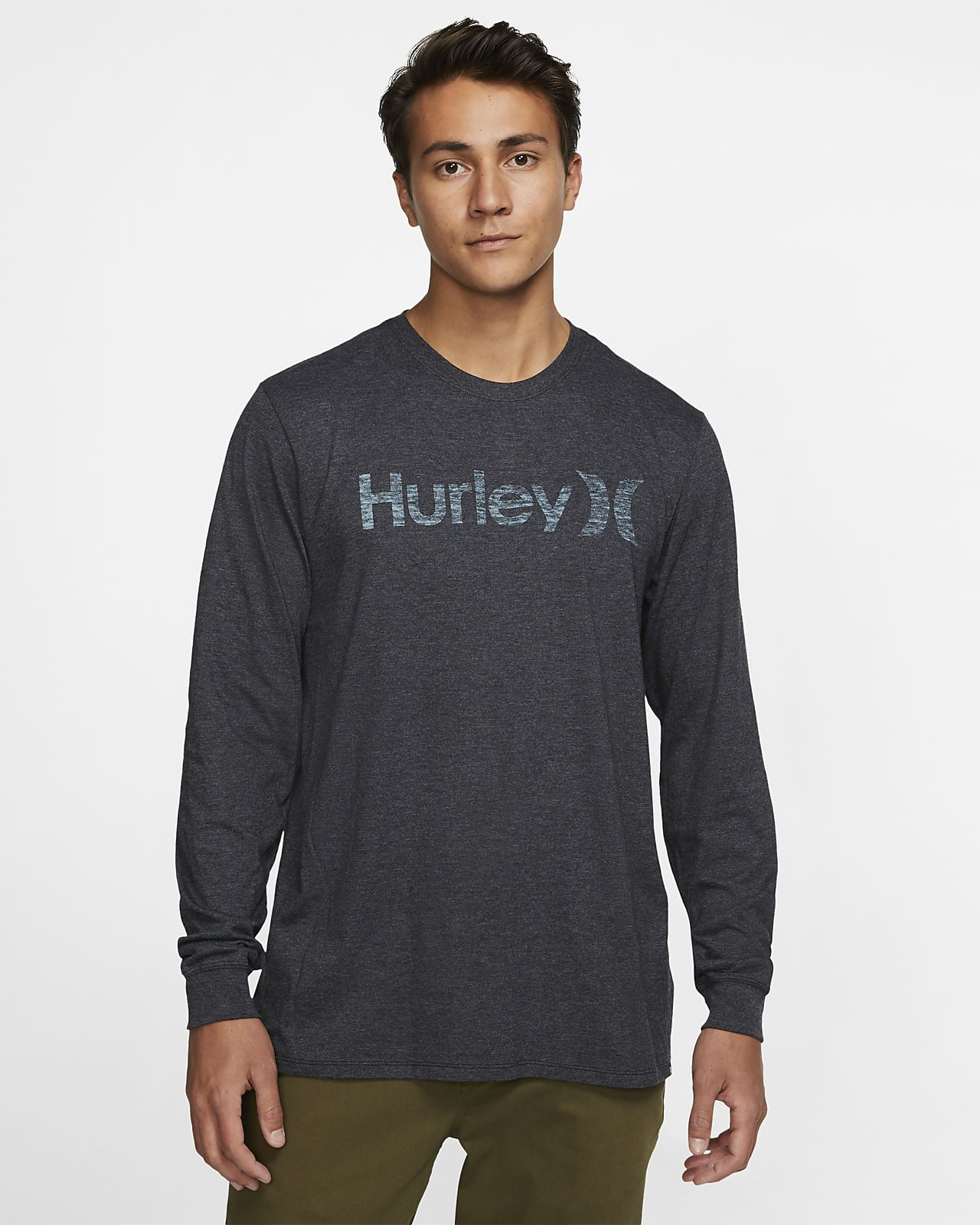 Hurley Premium One And Only Push Through Men's Long-Sleeve T-Shirt