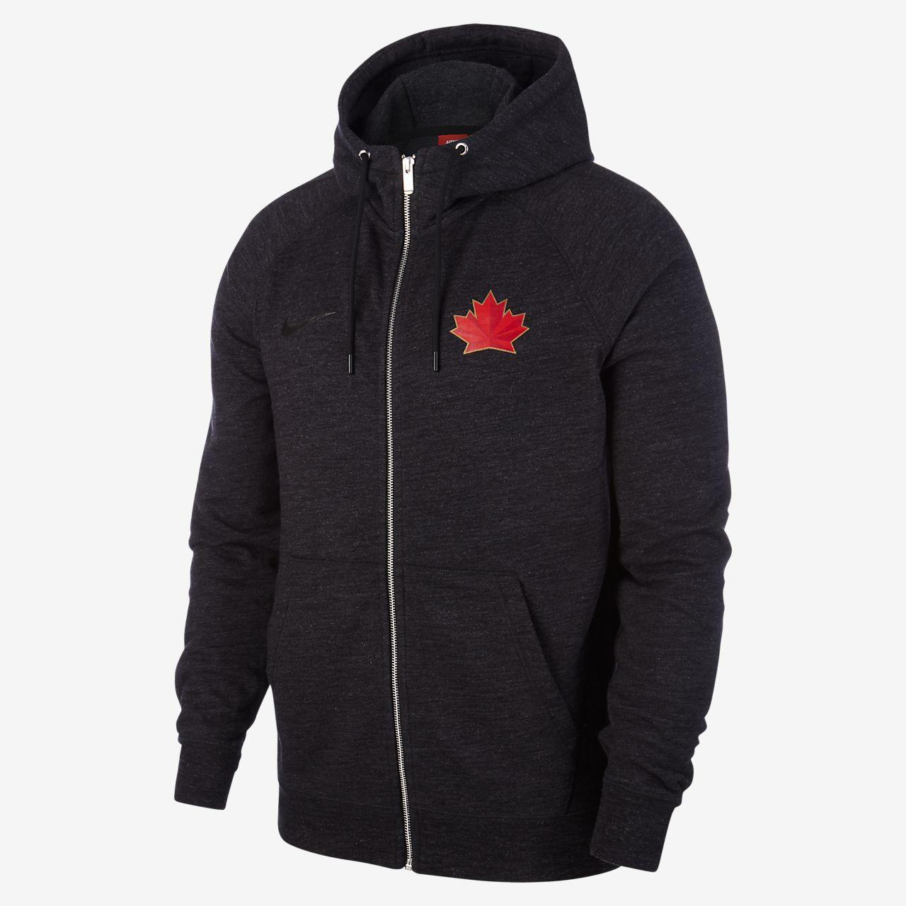 Nike Hockey Canada Legacy Men's Full Zip Hoodie