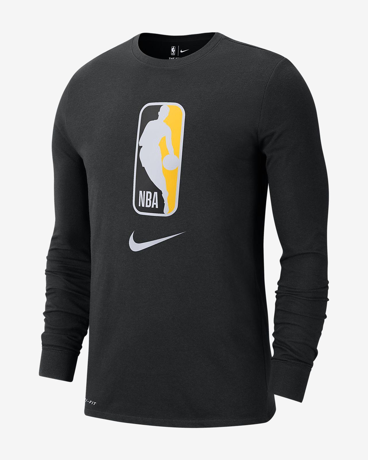 Nike Dri-FIT NBA-herenshirt met lange mouwen