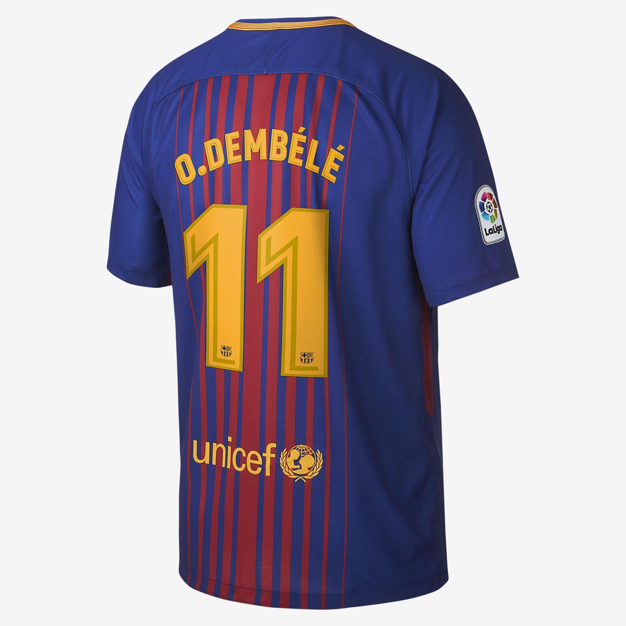 25da77127966a 2017 18 FC Barcelona Stadium Home. Nike.com MA