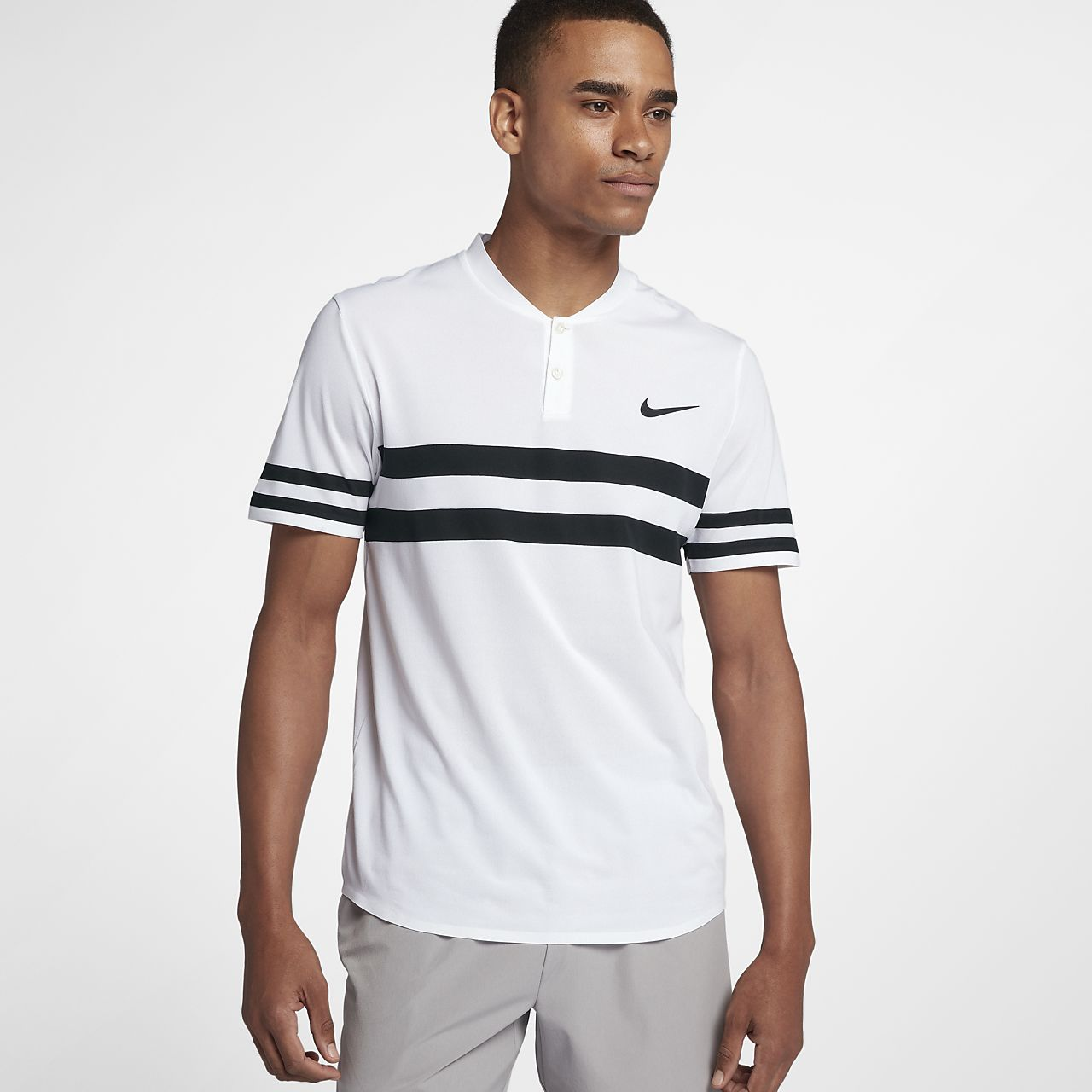 ... NikeCourt Dri-FIT Advantage Men's Tennis Polo