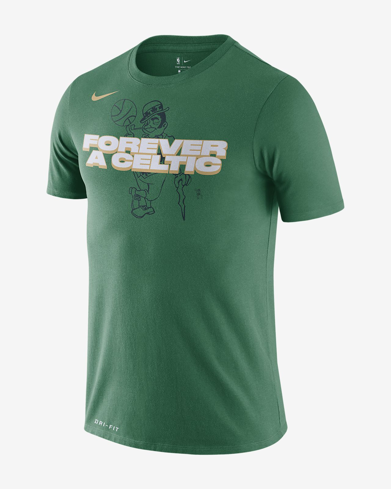 Ανδρικό T-Shirt NBA Boston Celtics Nike Dri-FIT
