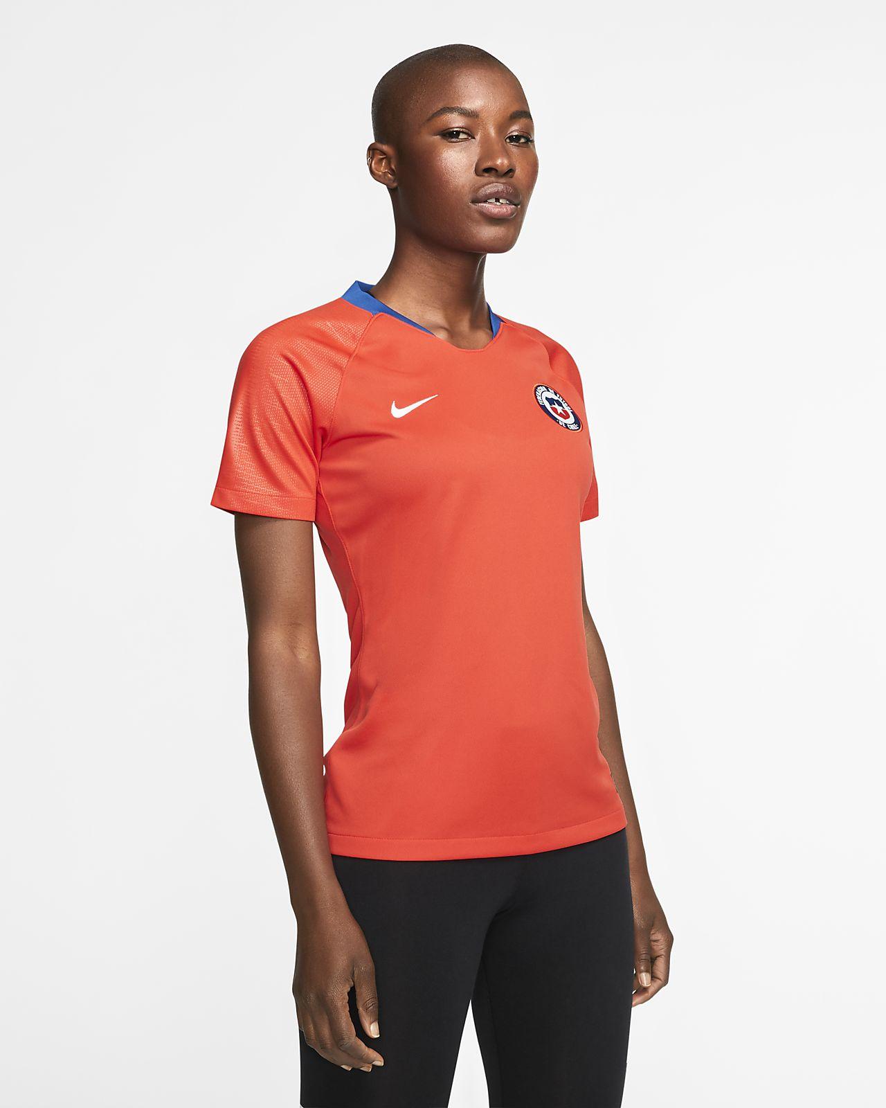 Camiseta de fútbol para mujer local Chile 2019 Stadium