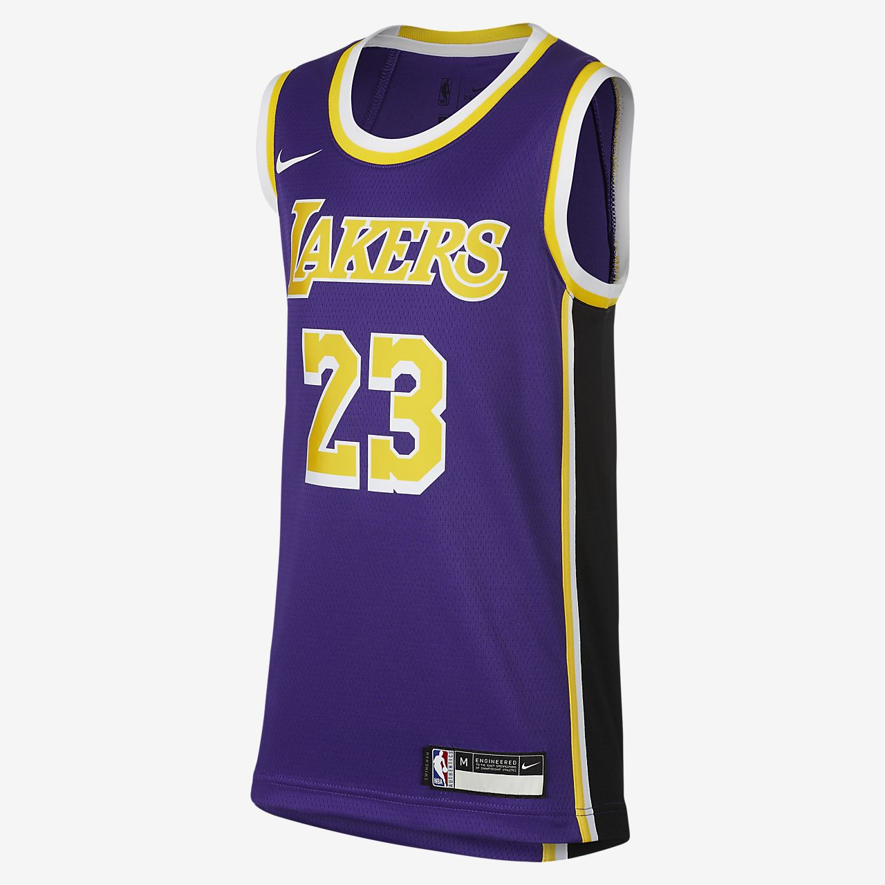 洛杉矶湖人队 Statement Edition Swingman Nike NBA Jersey 大童 (男孩)球衣