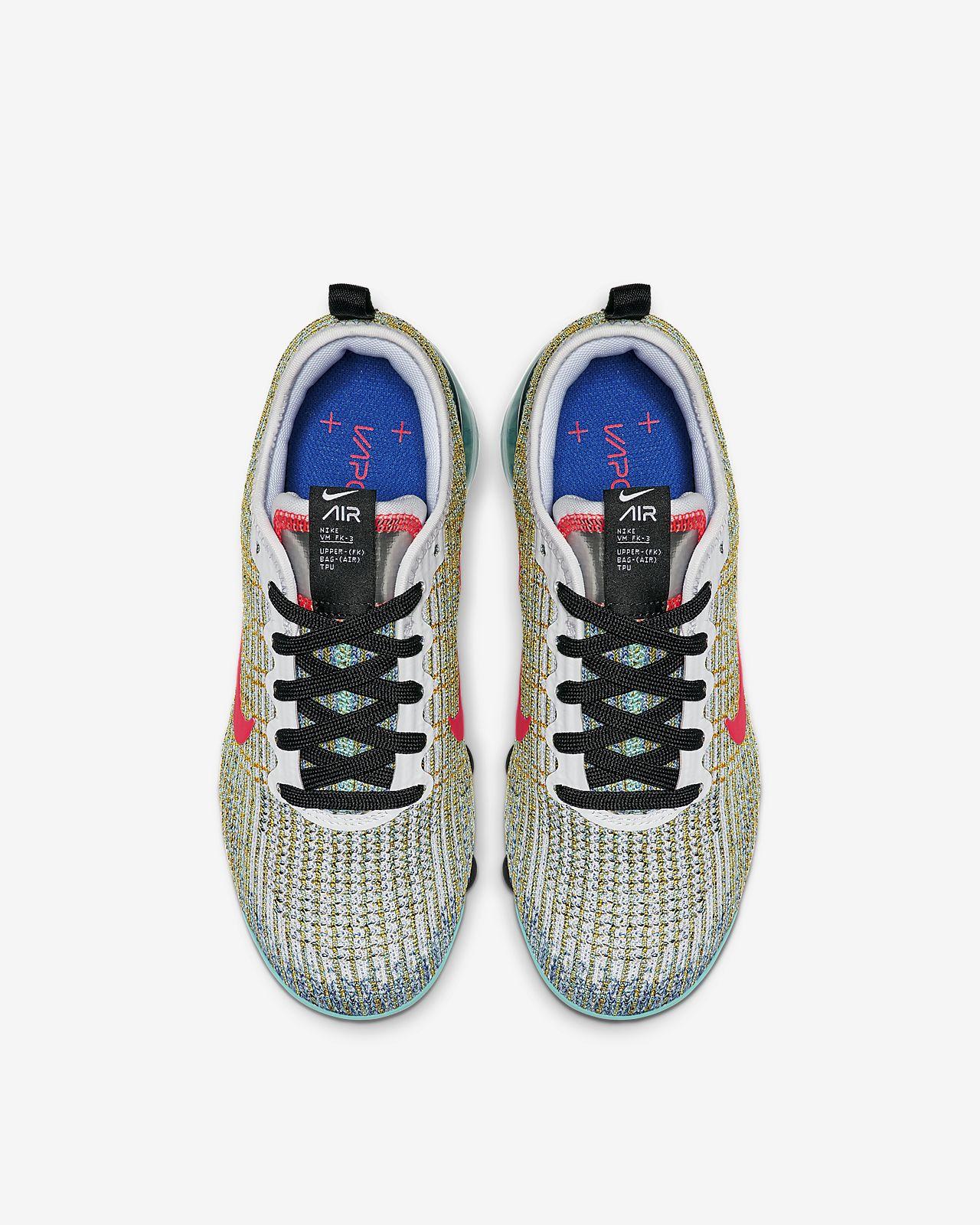 new arrival c02ae fdeee Nike Air VaporMax Flyknit 3 Older Kids' Shoe
