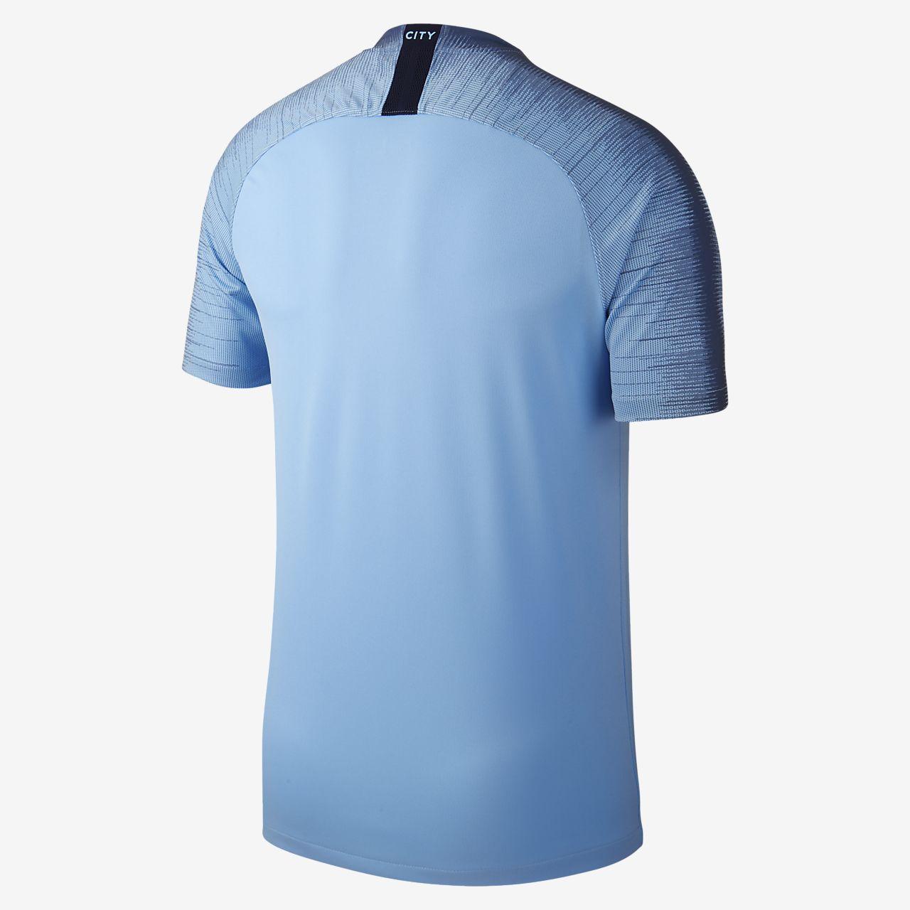 2018 19 Manchester City FC Stadium Home Men s Football Shirt. Nike ... 3a9d2df761f
