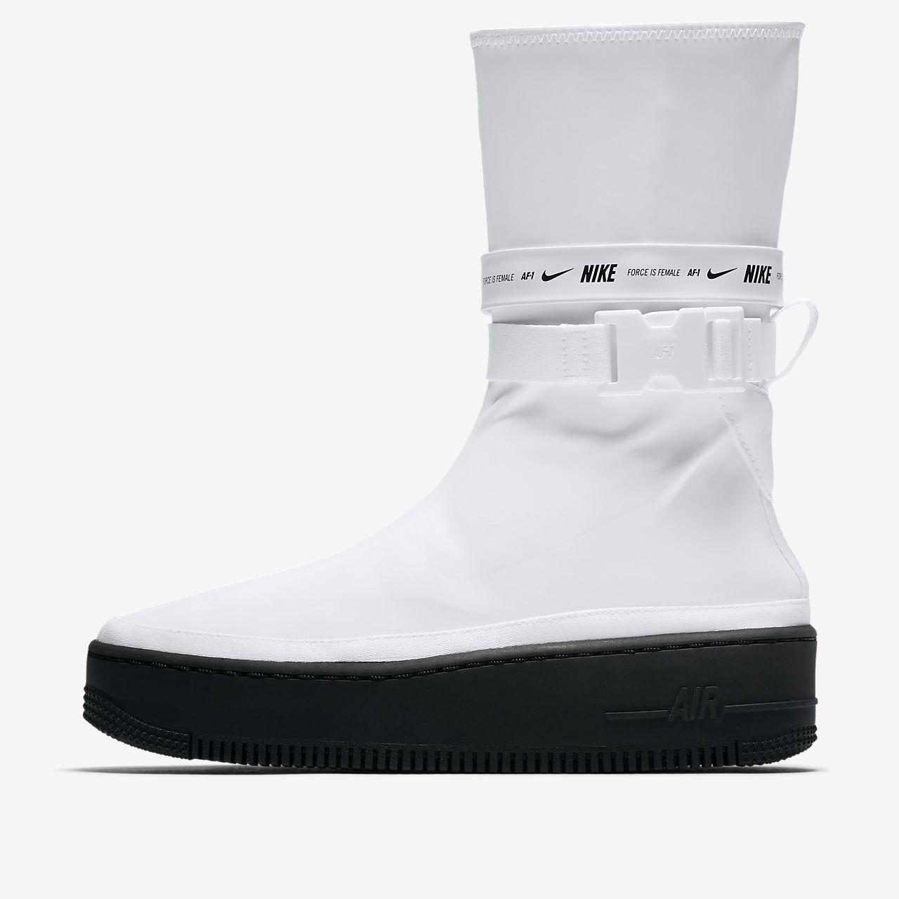 Sko Nike Air Force 1 Sage High för kvinnor