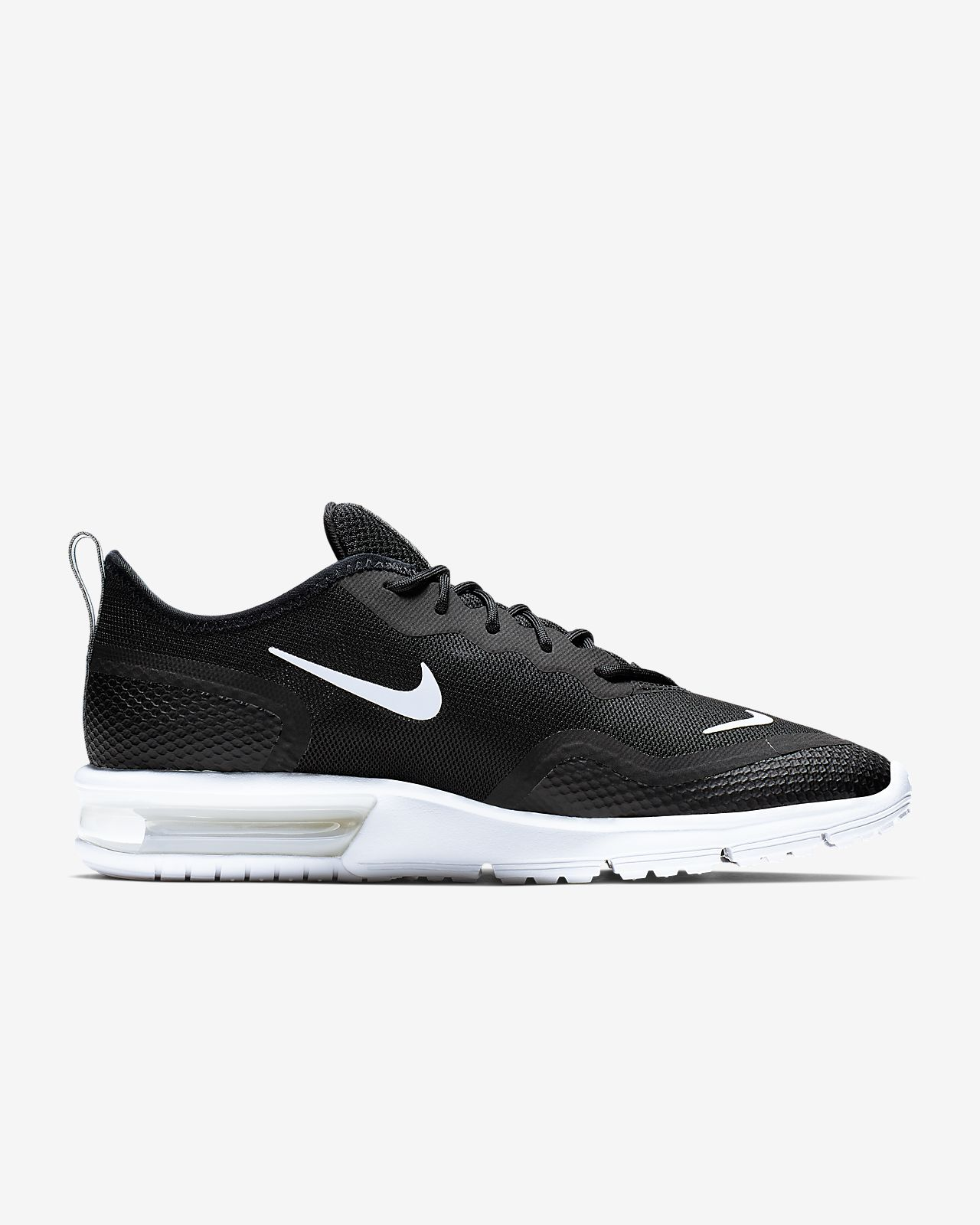 Damen nike Schwarz weiß Air Max Sequent 4.5 Sneaker