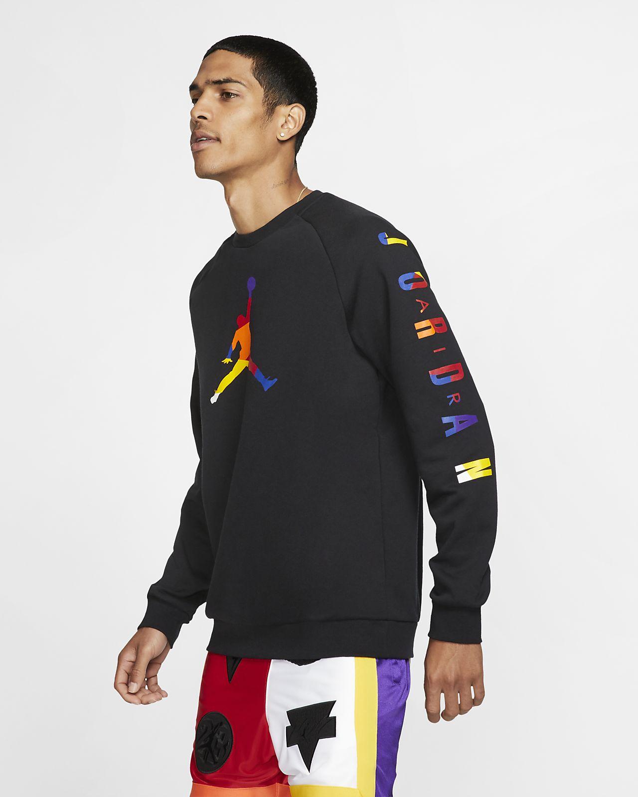 Jordan DNA Fleece-Rundhalsshirt für Herren