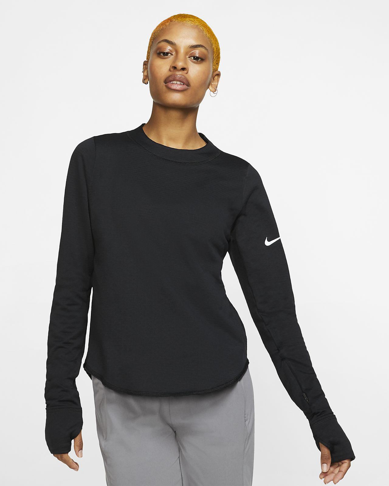 Haut de running à manches longues Nike Sphere Element pour Femme