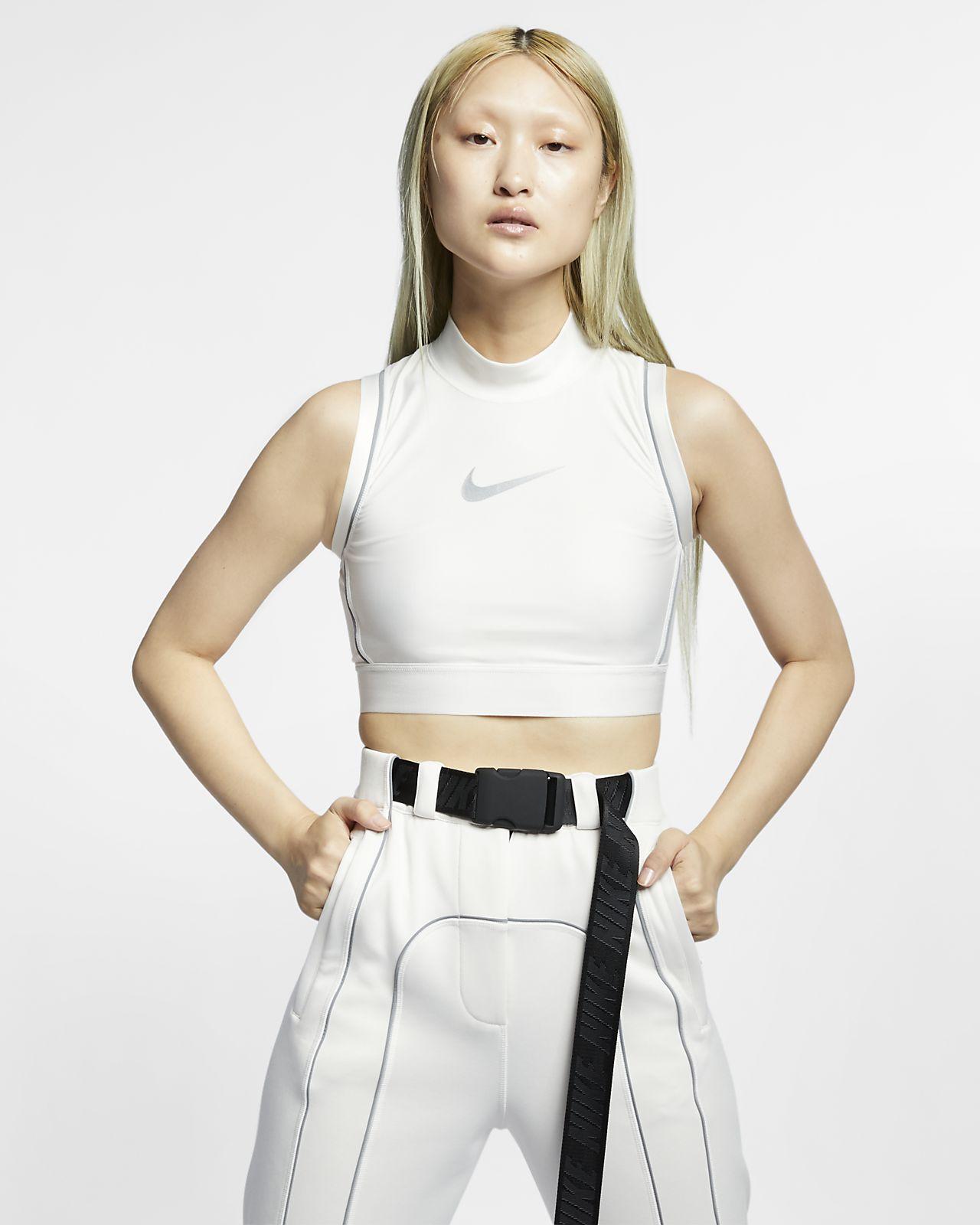 เสื้อเอวลอยผู้หญิง Nike x Ambush