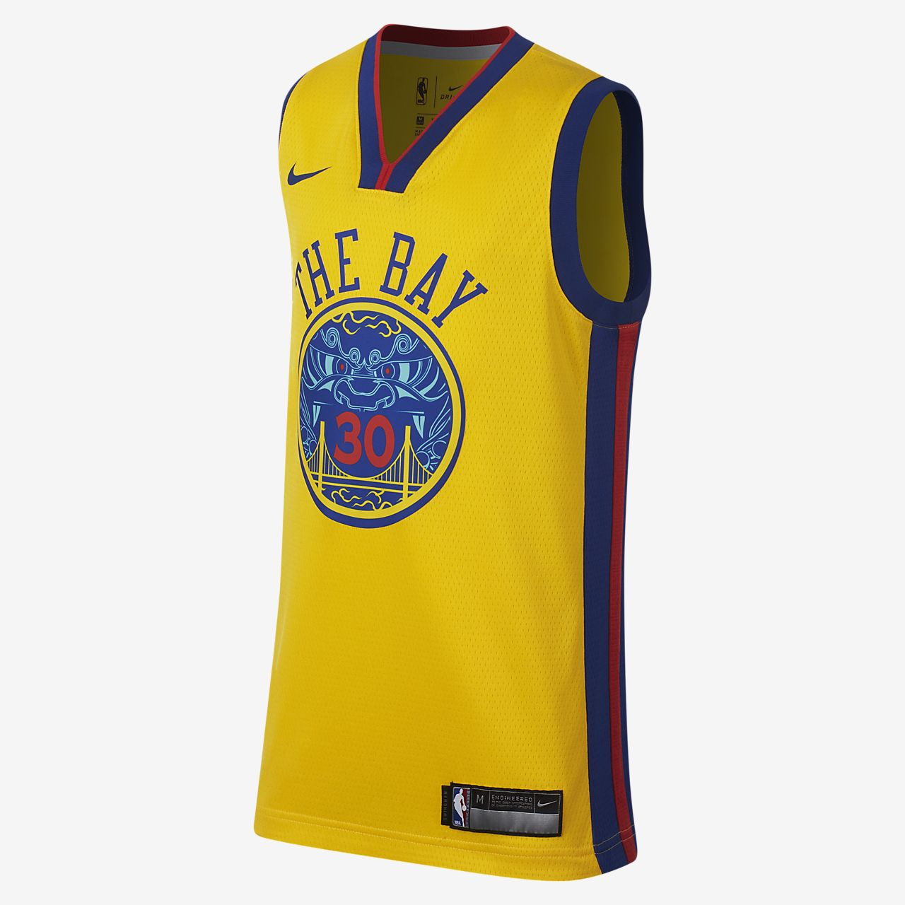 tpynv Stephen Curry City Edition Swingman Jersey (Golden State Warriors