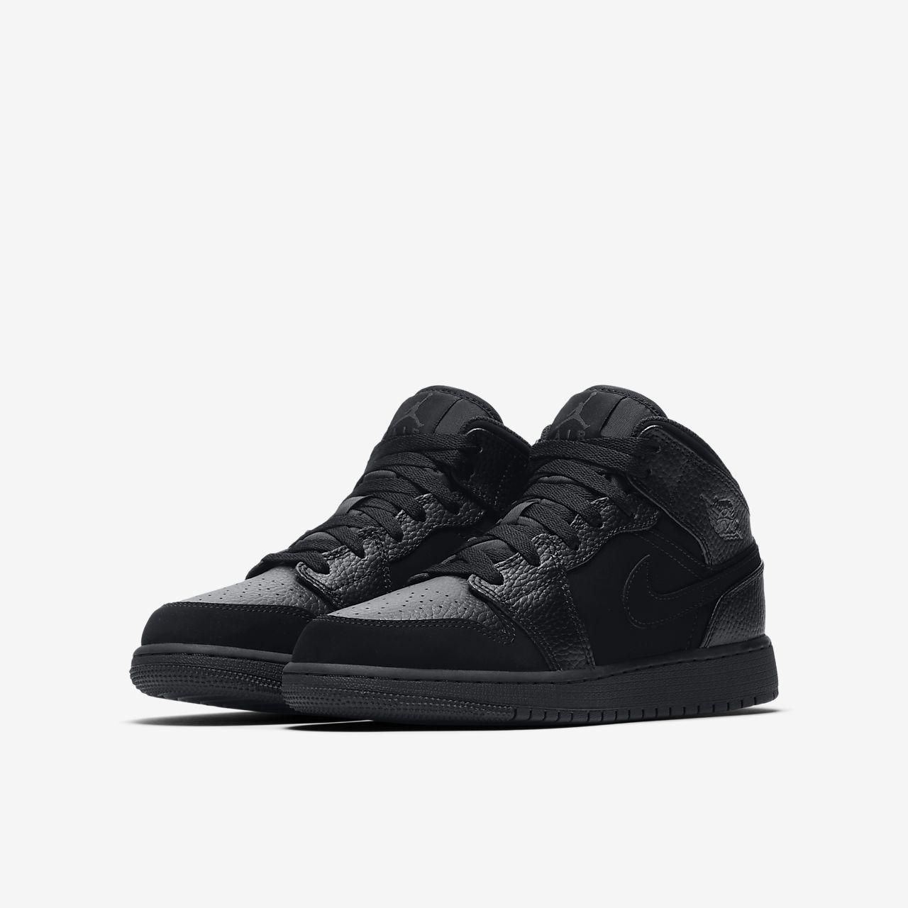 factory authentic cc1ff 15120 ... Air Jordan 1 Mid Older Kids  Shoe