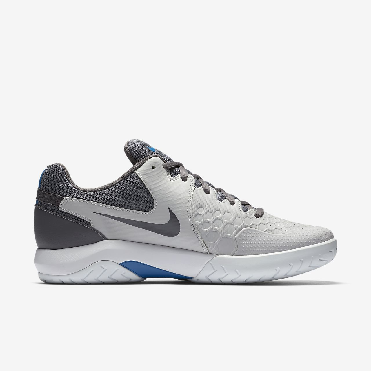 NIKE AIR ZOOM RESISTANCE MENS TENNIS SHOES - MENS SIZE  10