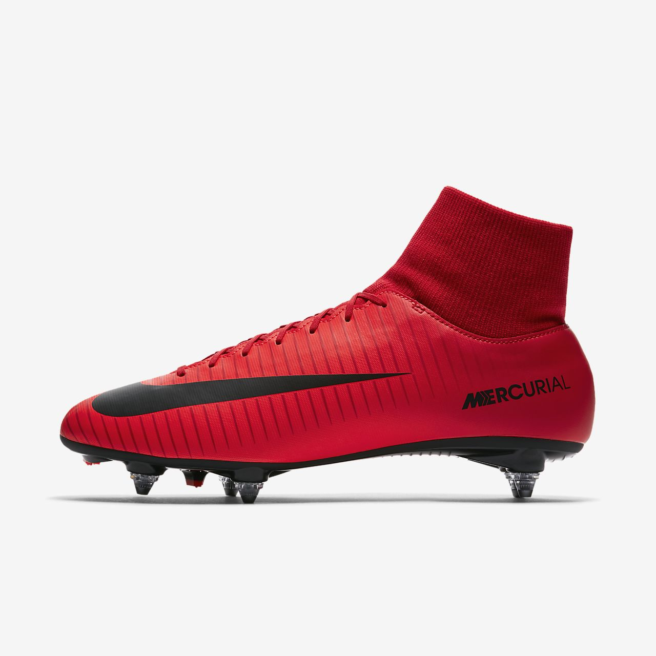 Nike Mercurial Victory VI Dynamic Fit SG (903610-616) Mens Football Boots Red/Black