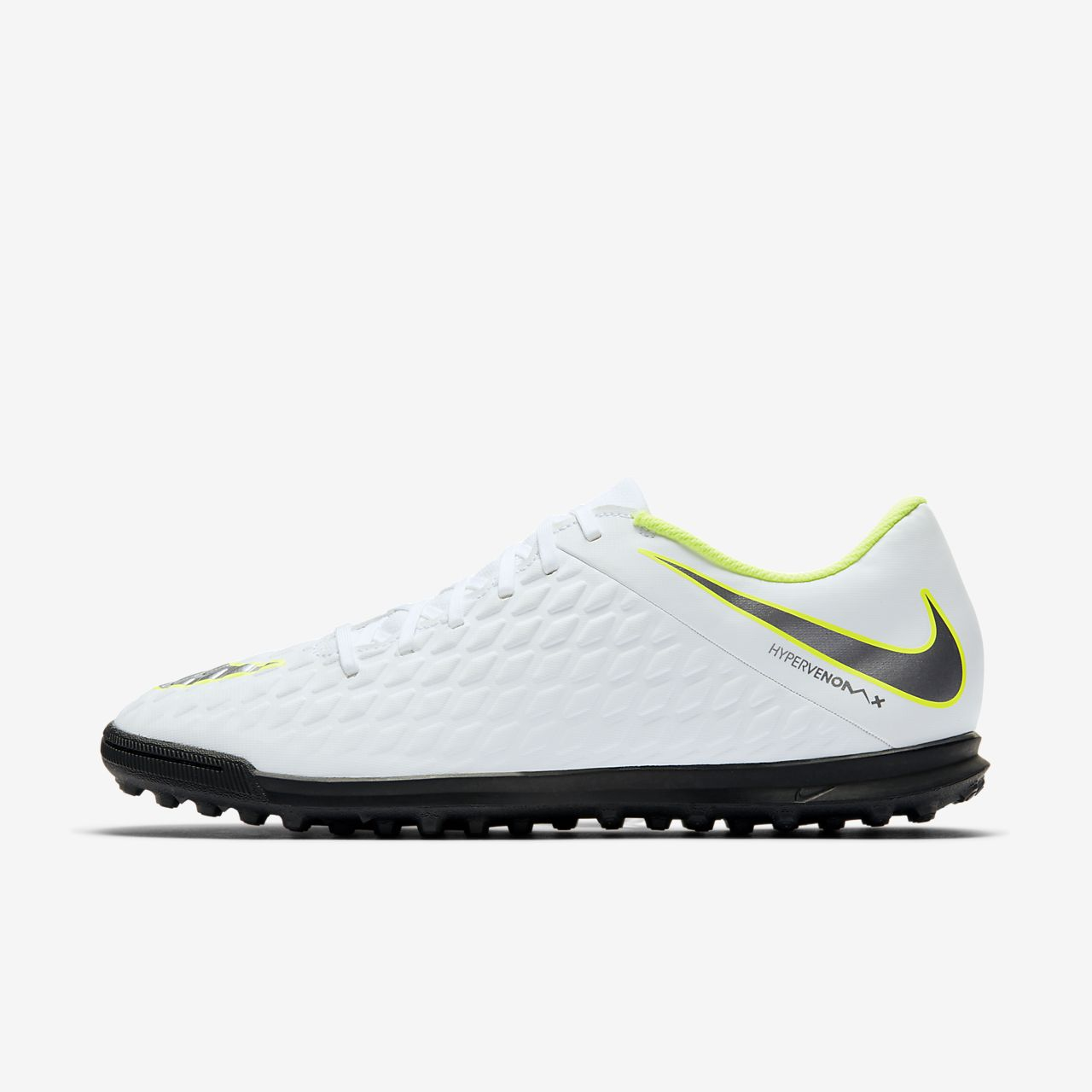 Scarpe Nike Nike HypervenomX Phantom III Club TF Taglia 44 AJ3811107 Bianco