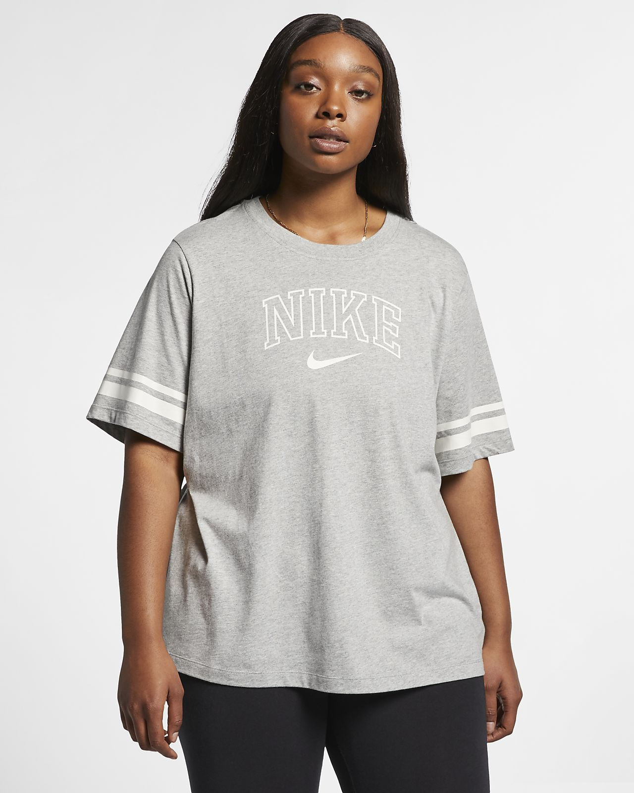 6f18c9635bf Nike Sportswear Women s Short-Sleeve Top (Plus Size). Nike.com
