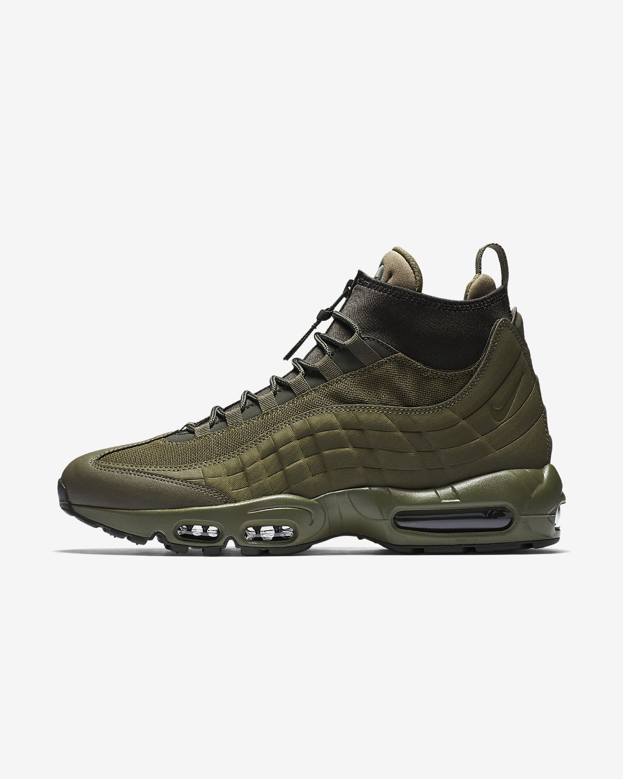 Nike Nike Air Max 95 Sneakerboot Marron etSKtjdu5E