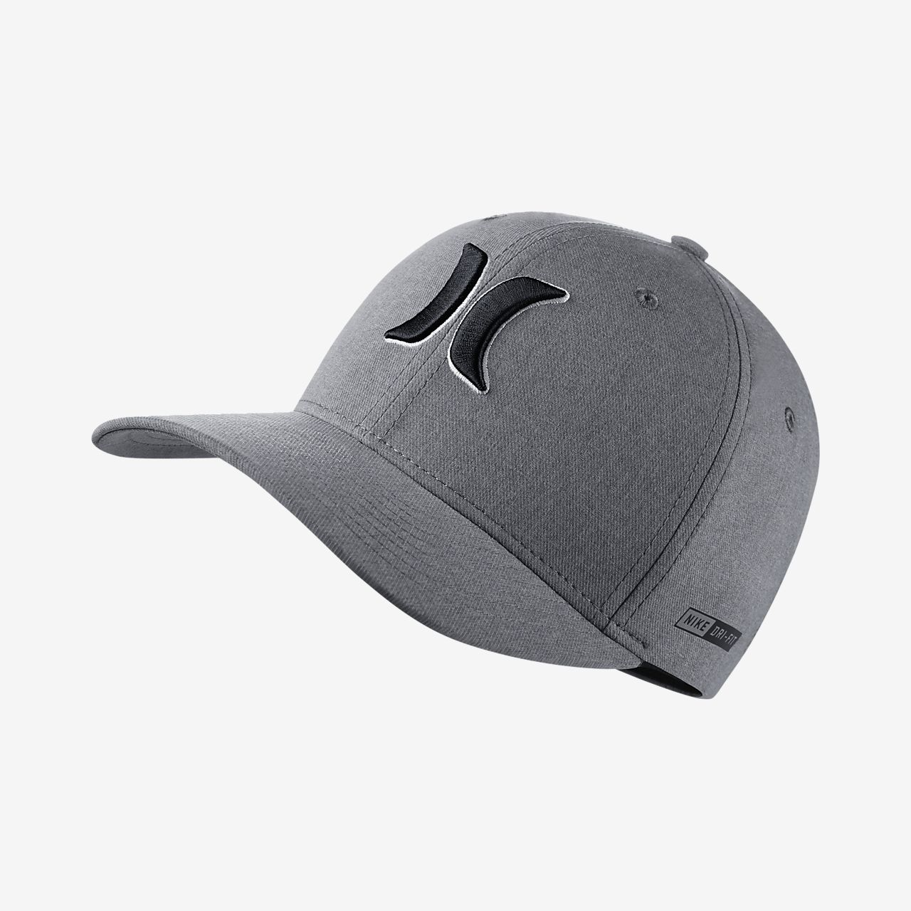 2fa57861fbe40 ... czech hurley dri fit heather mens fitted hat 6fe84 4fa47