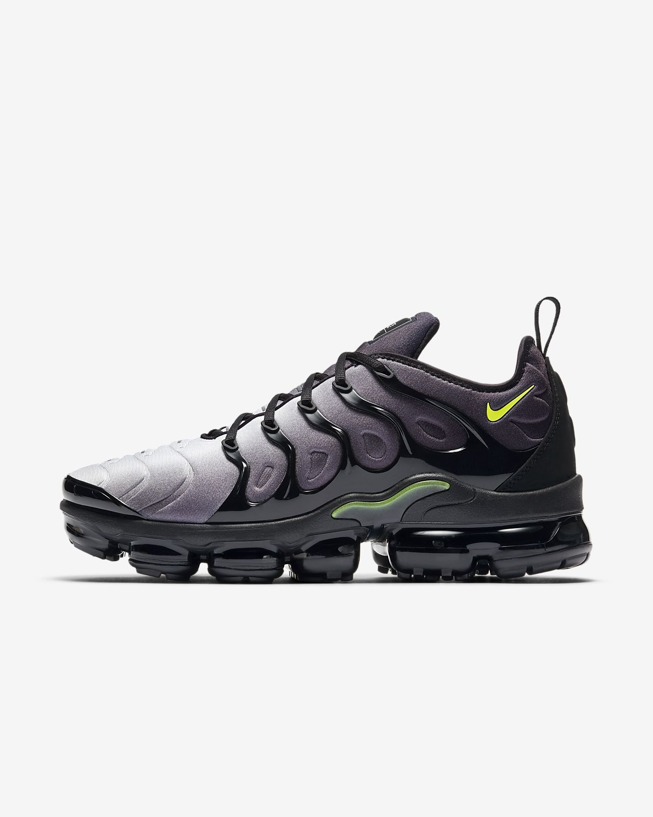 Nike Air Vapormax Plus (Black/Volt-White) Men's Shoes 924453-009