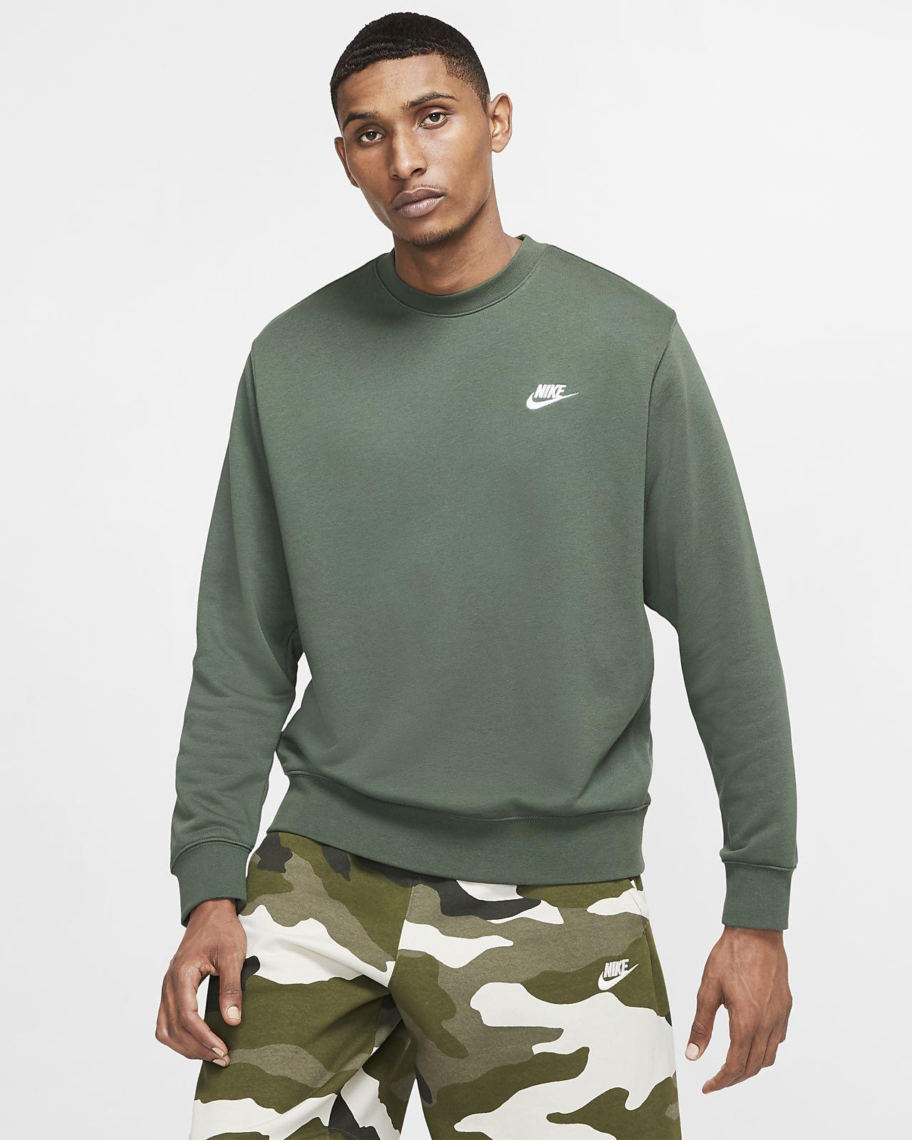 Nike Sportswear Club Men's French Terry Crew
