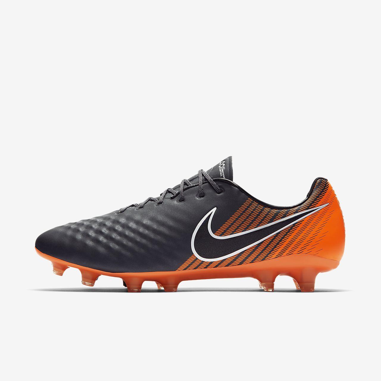 Nike Performance MAGISTA OBRA II FG - Chaussures de foot à crampons gris DOJxUA