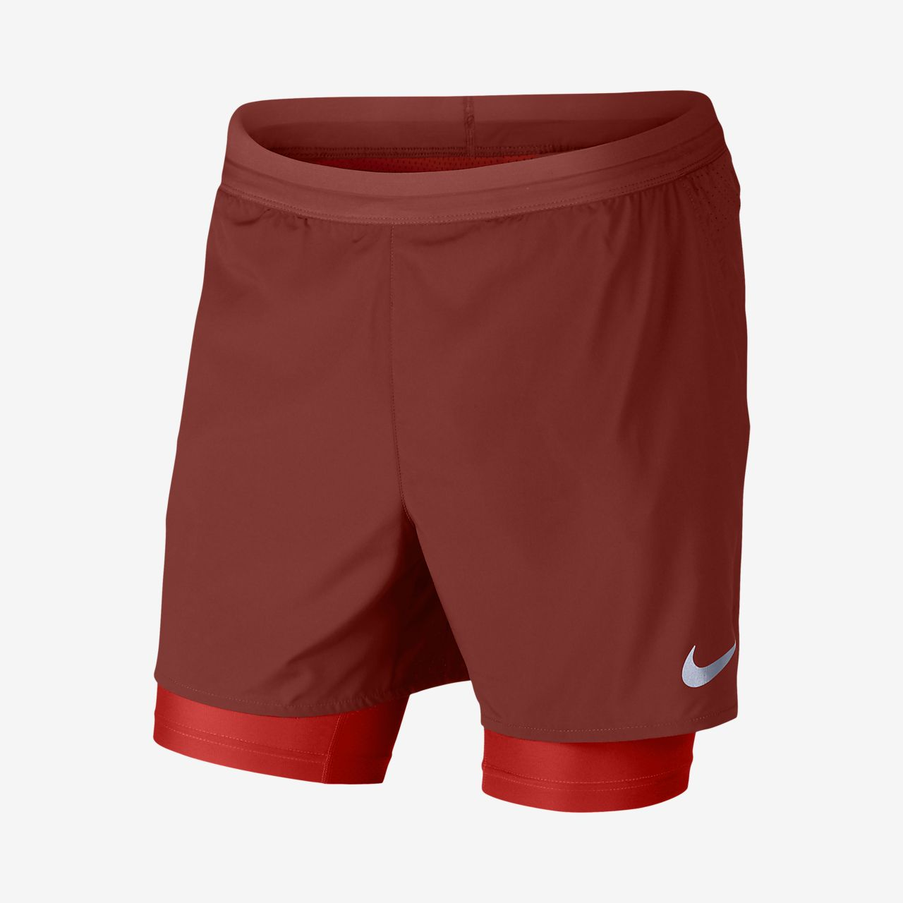 nike shorts 2 in 1 mens