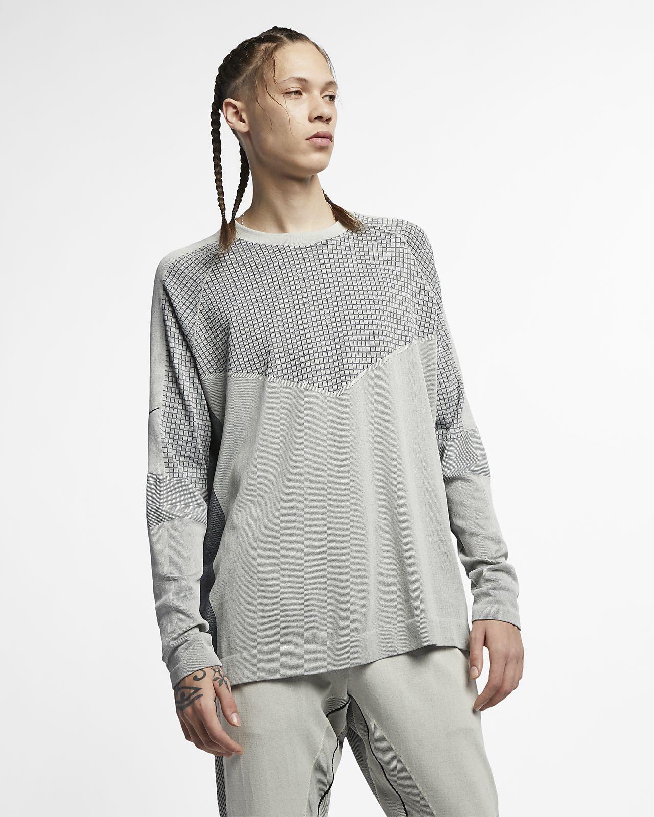 Nike Sportswear Tech Pack langermet strikkeoverdel til herre