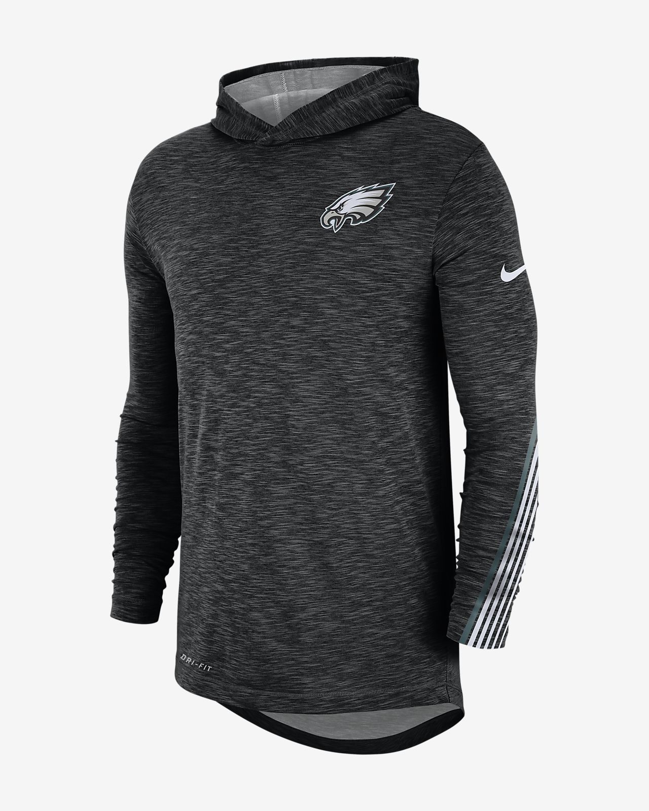 pretty nice 8a7da 7ff31 Nike Dri-FIT (NFL Eagles) Men's Hoodie