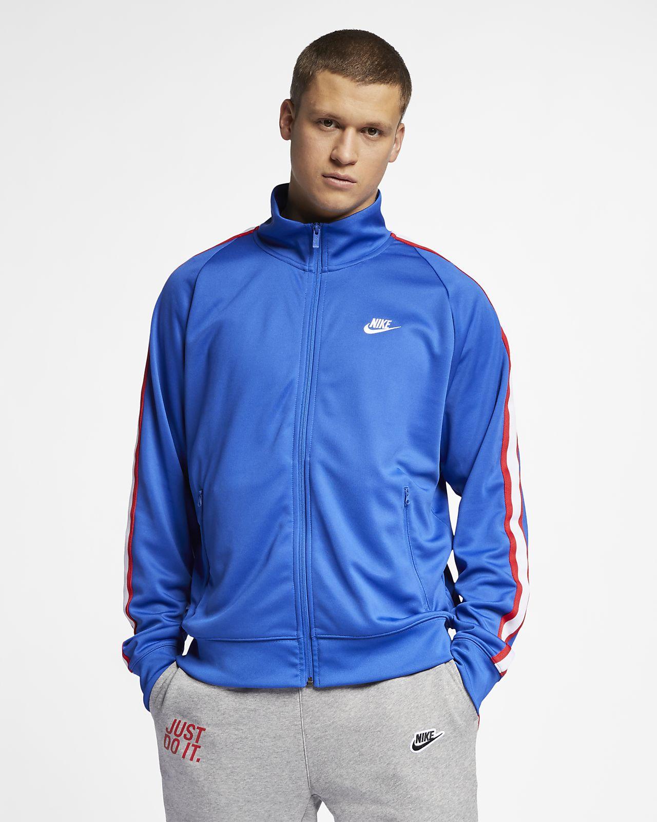 4498640f126a Nike Sportswear N98 Men s Knit Warm-Up Jacket. Nike.com