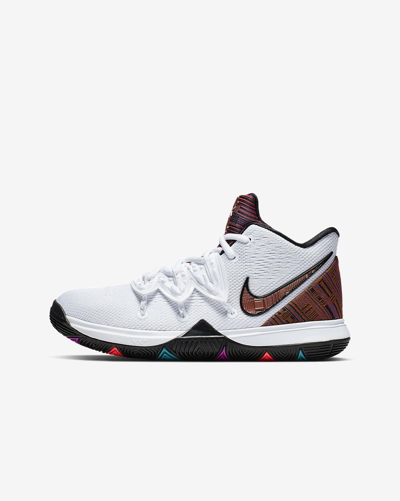 Kyrie 5 BHM Big Kids' Basketball Shoe