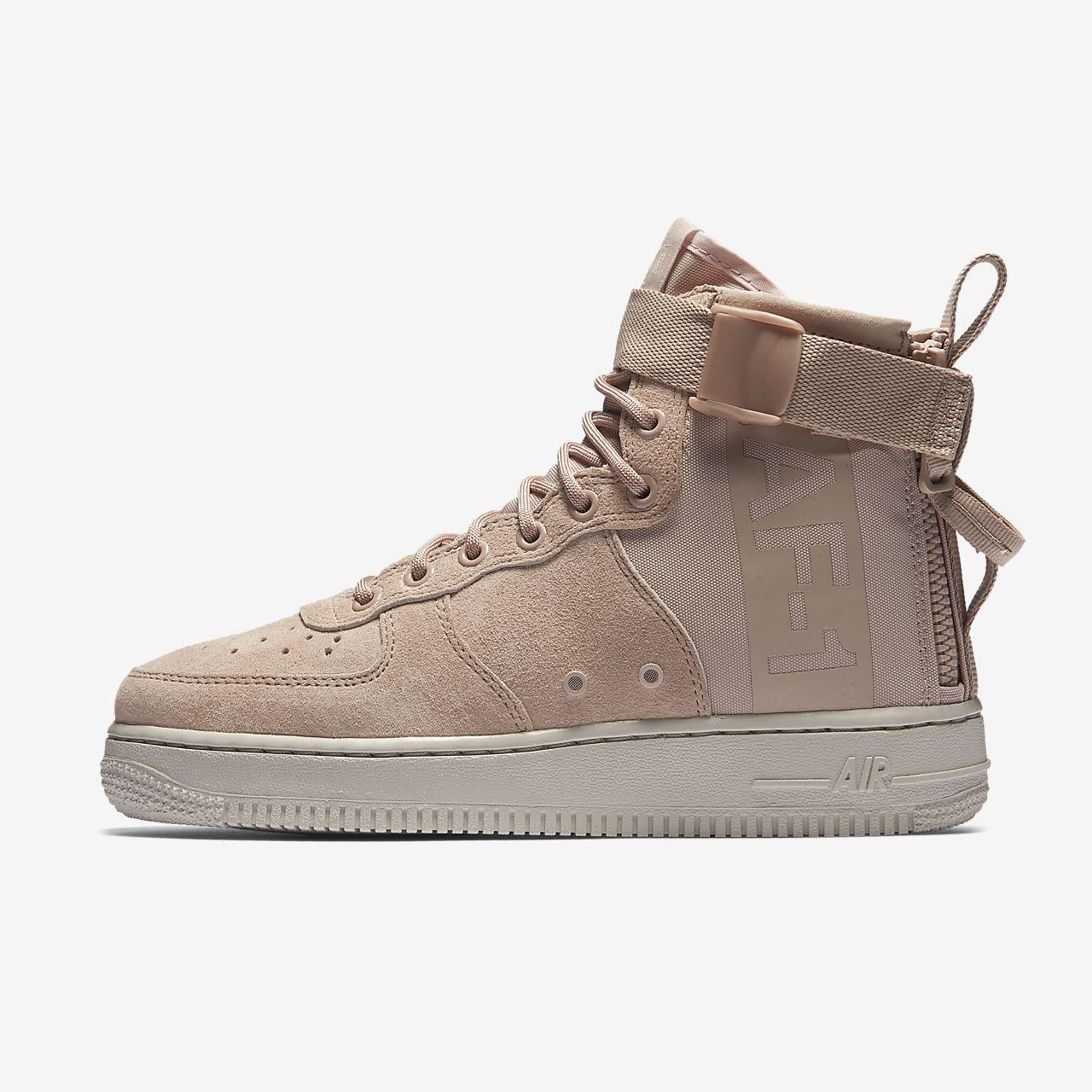 online retailer 2f013 43157 Nike SF Air Force 1 Mid - Damen Schuhe Black Größe 39