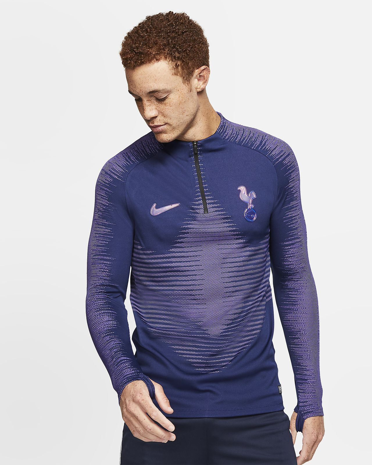 Nike VaporKnit Tottenham Hotspur Strike fotballtreningsoverdel til herre